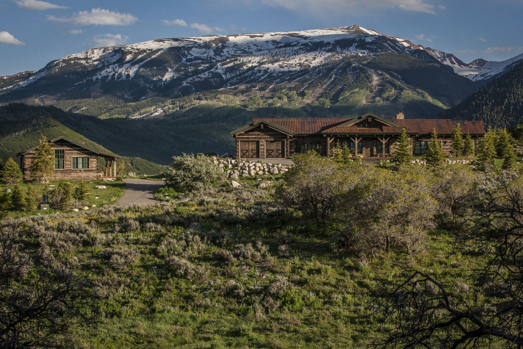 Single Family Home for Sale at Star Ranch 1120 Shield O Road, Snowmass, Colorado, 81654 United States