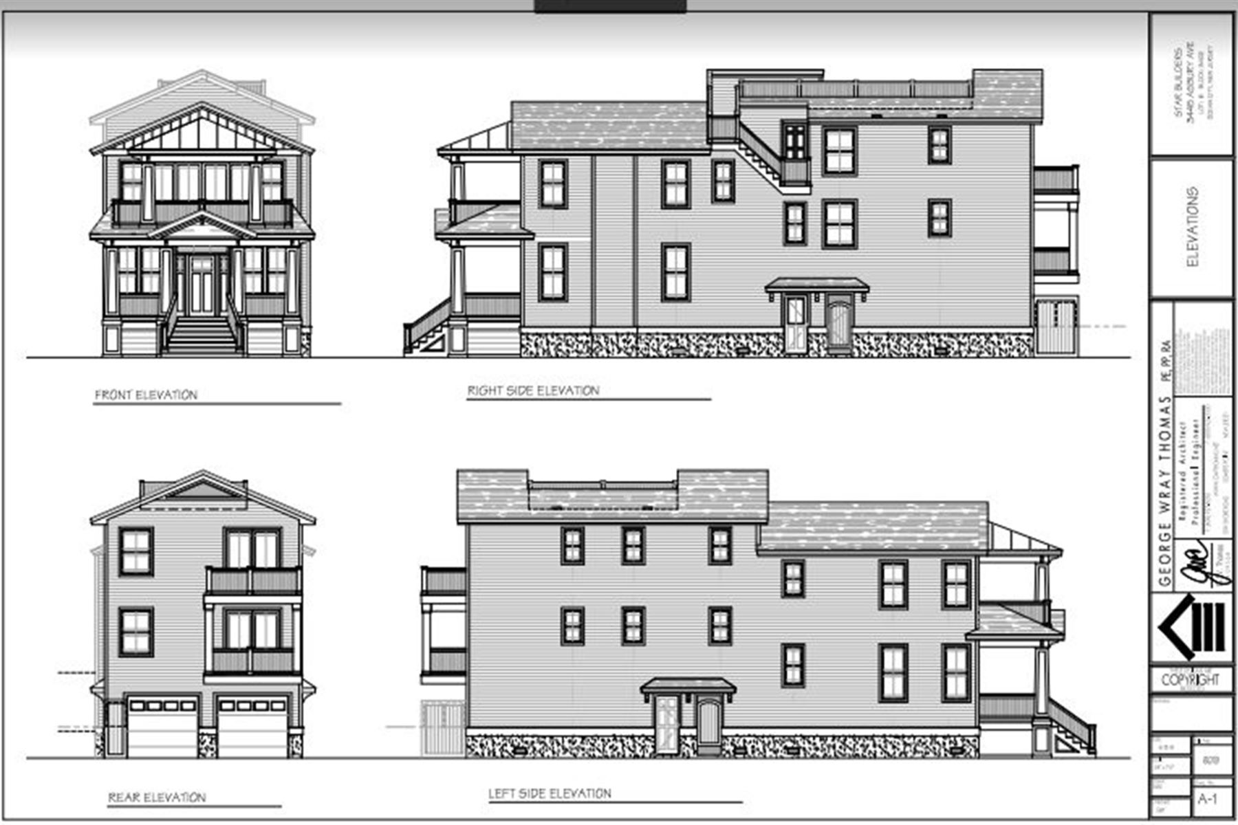Condominiums for Sale at New Duplex Construction 3445-47 Asbury Ave Ocean City, New Jersey 08226 United States