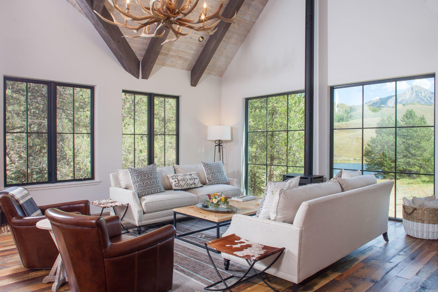 Maison unifamiliale pour l à vendre à 608 Nicholson Lake Ridge Road Crested Butte, Colorado, 81224 États-Unis