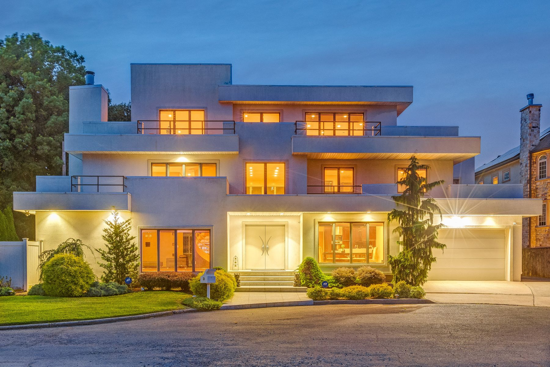 Single Family Homes for Sale at Contemporary By The Ocean 30 Tricia Way Staten Island, New York 10307 United States