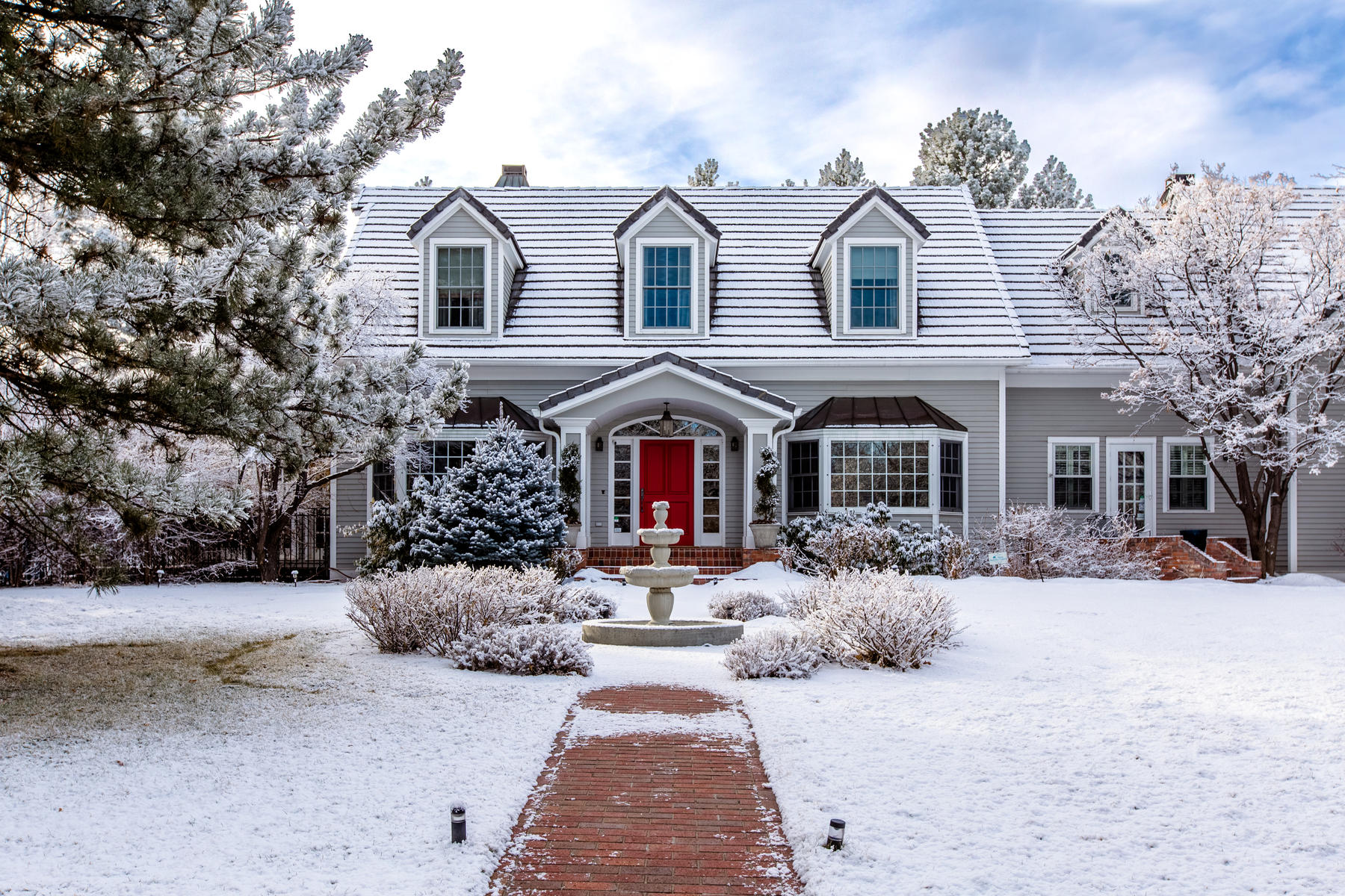 Single Family Homes for Active at Cape Cod home in an exclusive enclave of Old Cherry Hills. 17 Mockingbird Ln. Cherry Hills Village, Colorado 80113 United States