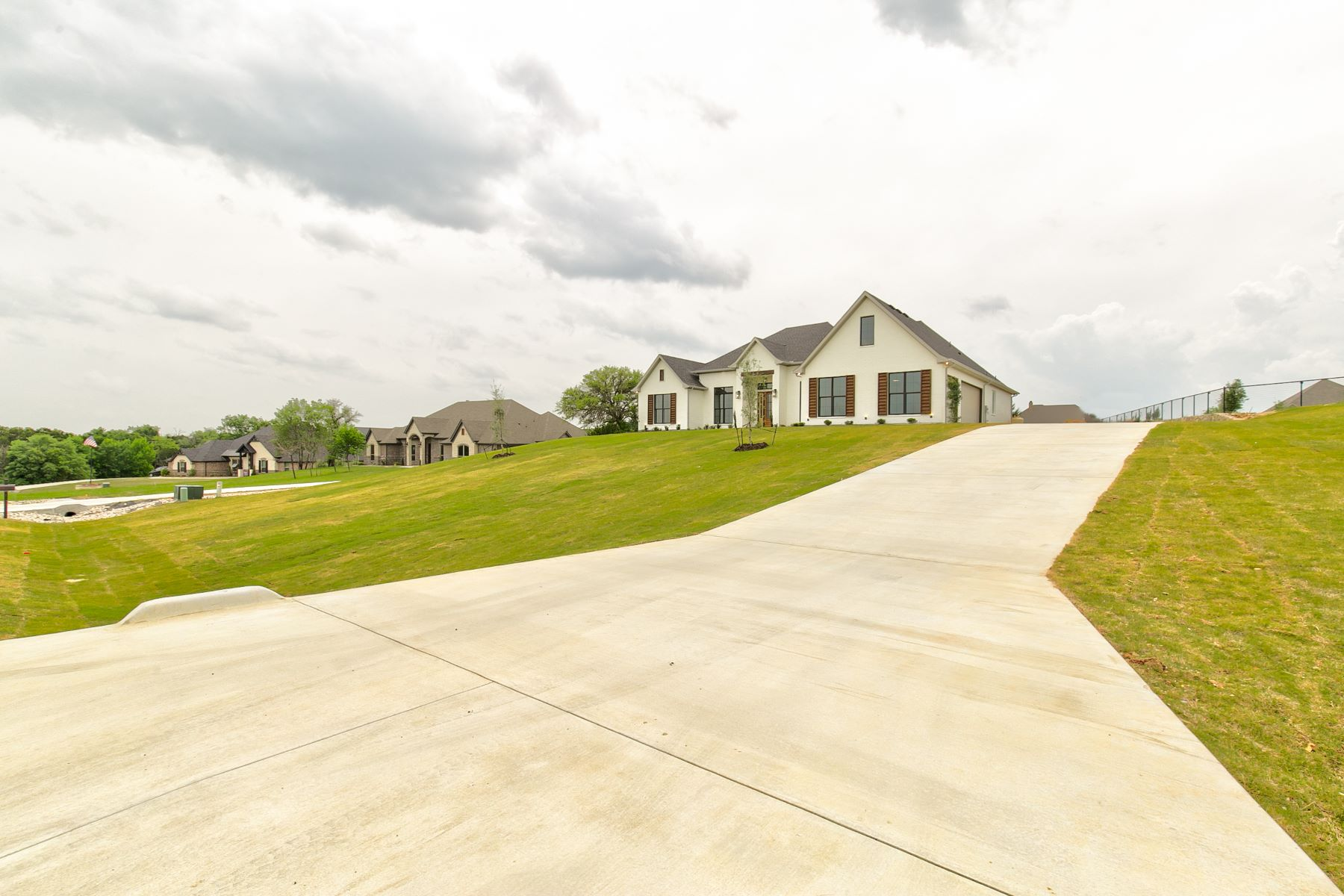 Single Family Homes for Sale at Meticulously designed and thoughtfully crafted every modern farmhouse 333 Kenyon Court Granbury, Texas 76049 United States