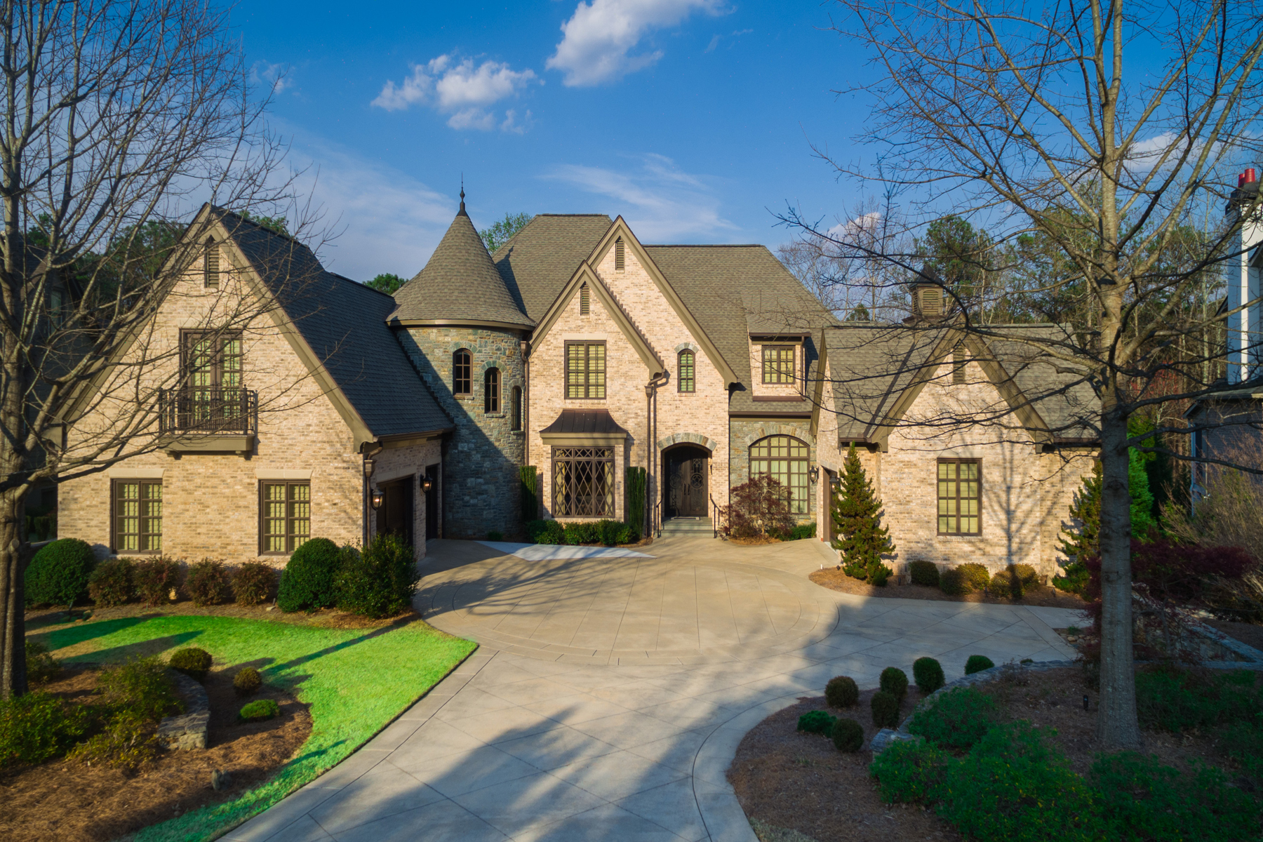 Single Family Home for Sale at French Normandy Masterpiece In Peachtree City 204 Brookings Lane Peachtree City, Georgia 30269 United States