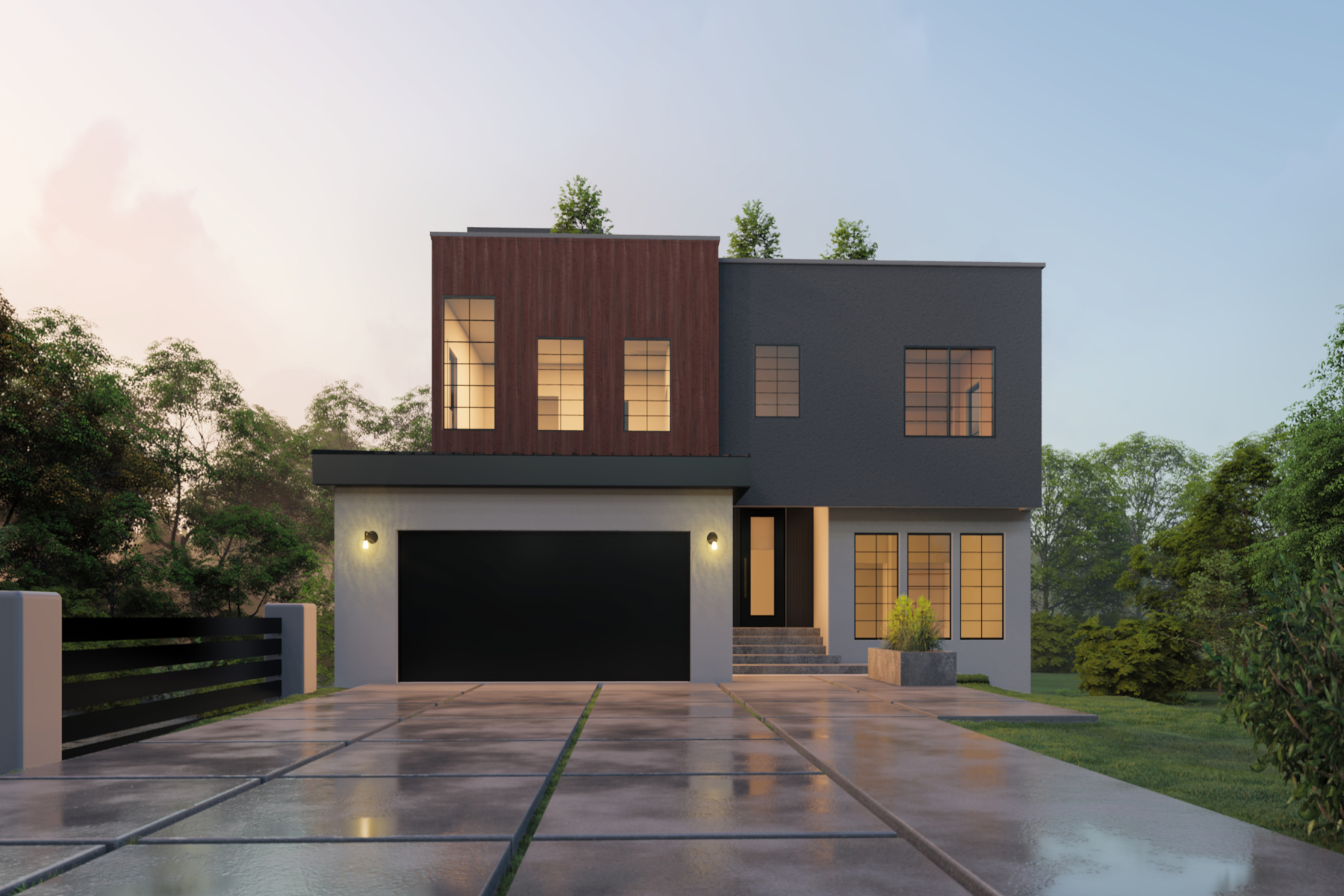 Property for Sale at Buckhead Forest Contemporary New Construction in Sarah Smith School District 190 Alberta Drive Atlanta, Georgia 30305 United States