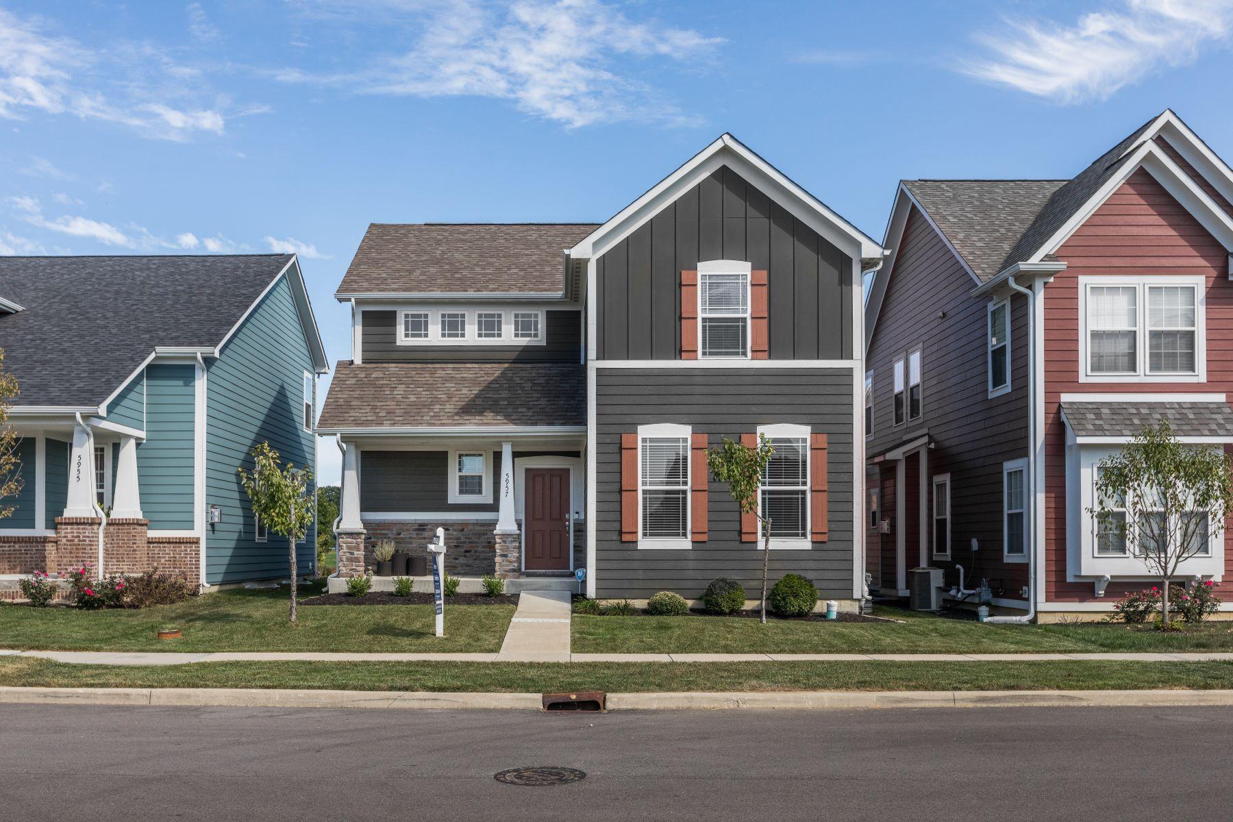 Single Family Homes por un Venta en Wonderful Home in Anson 5957 Aldridge Drive Whitestown, Indiana 46075 Estados Unidos