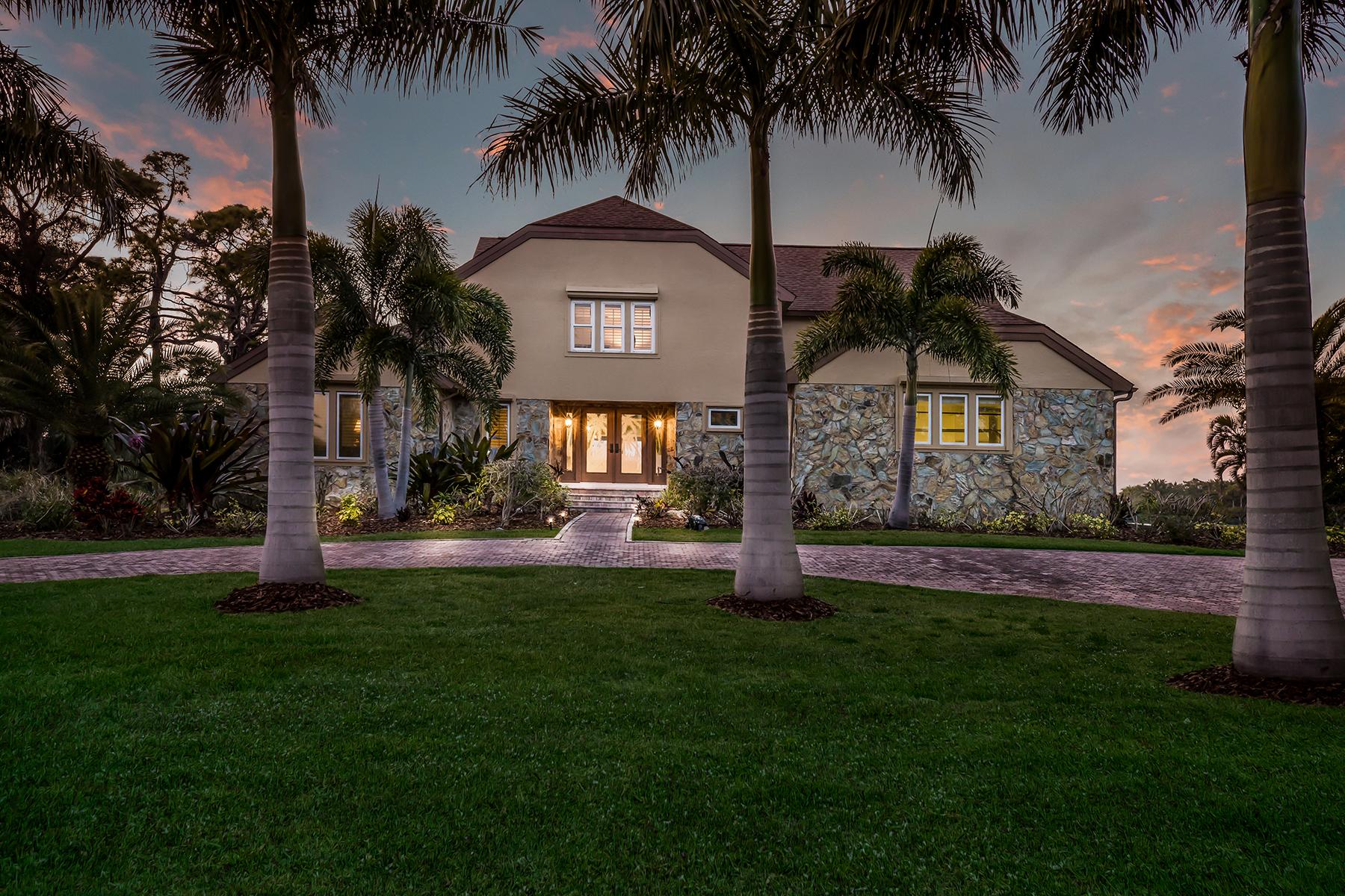 Single Family Homes für Verkauf beim NOKOMIS 524 Lyons Bay Rd, Nokomis, Florida 34275 Vereinigte Staaten