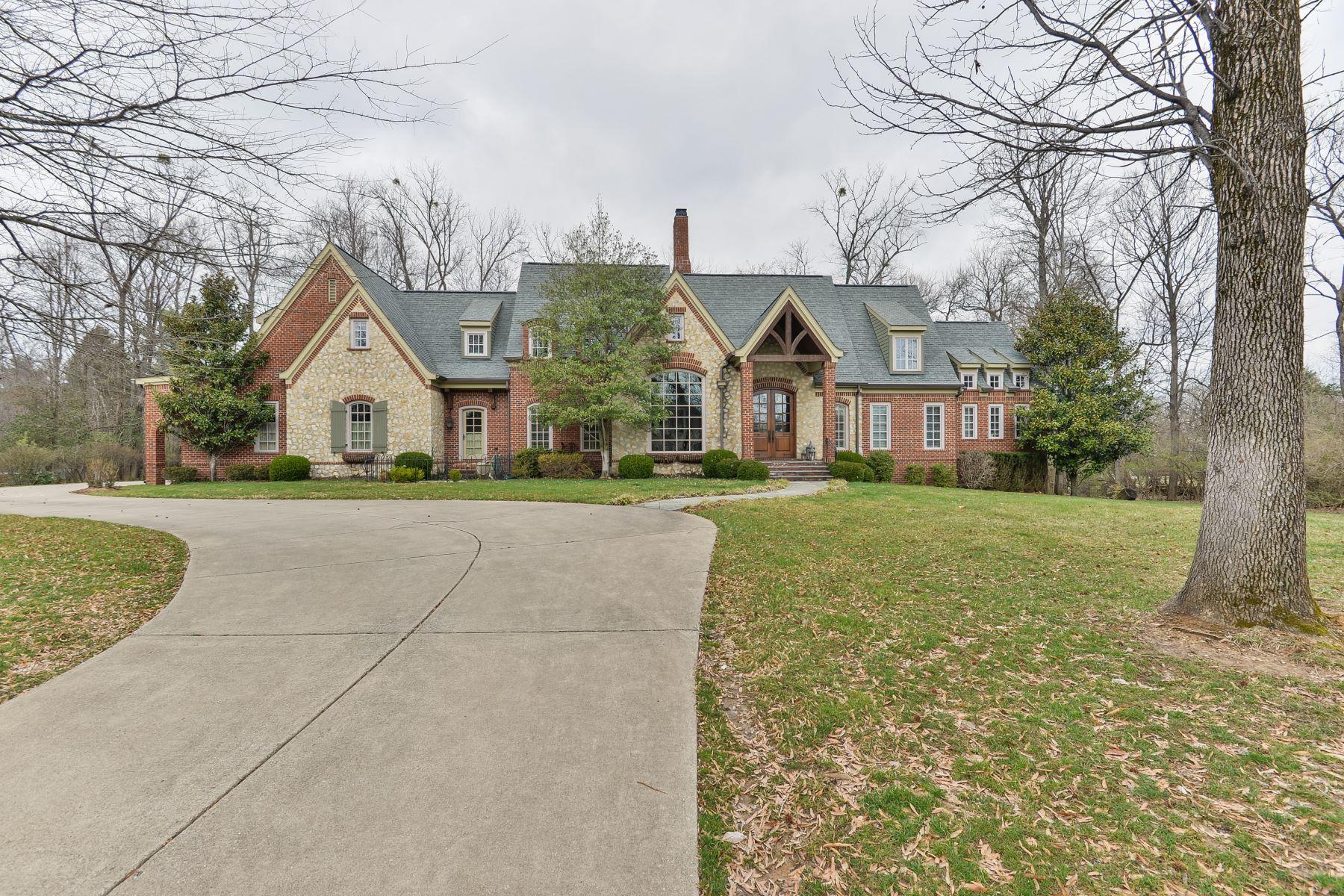 Single Family Homes por un Venta en 12354 Forest School Lane Anchorage, Kentucky 40223 Estados Unidos