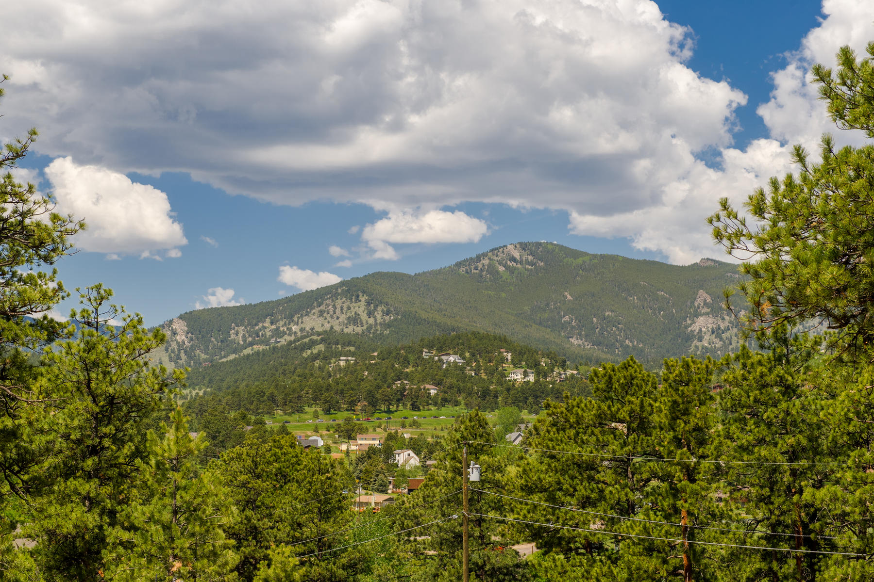 Land for Active at Bergen Peak Views, Quiet, Secluded, Yet Easy Access to Amenities 3377 Bronco Lane Evergreen, Colorado 80439 United States