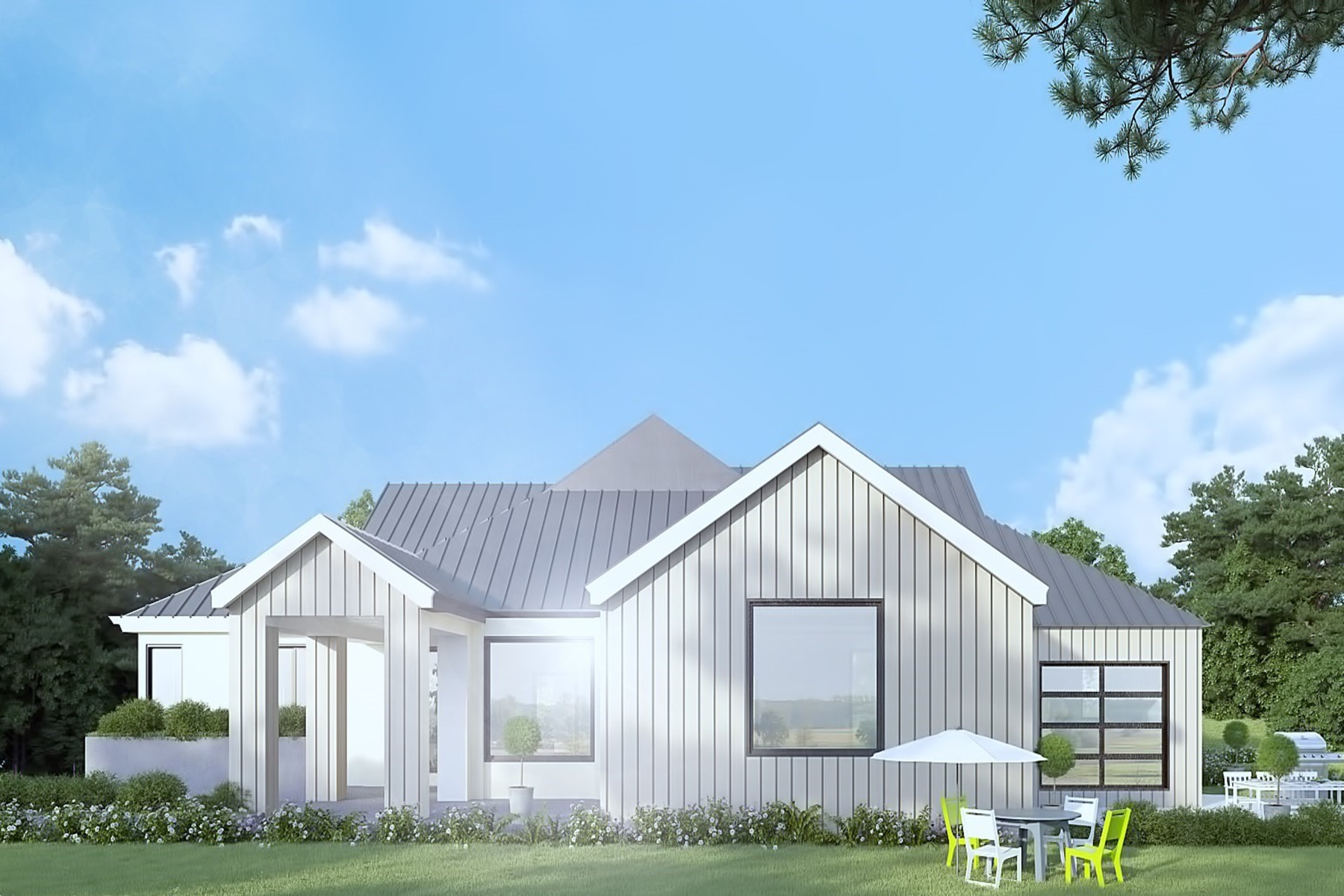 Vivienda unifamiliar por un Venta en Modern Farm House Style Home 251 Kuss Road Danville, California, 94526 Estados Unidos