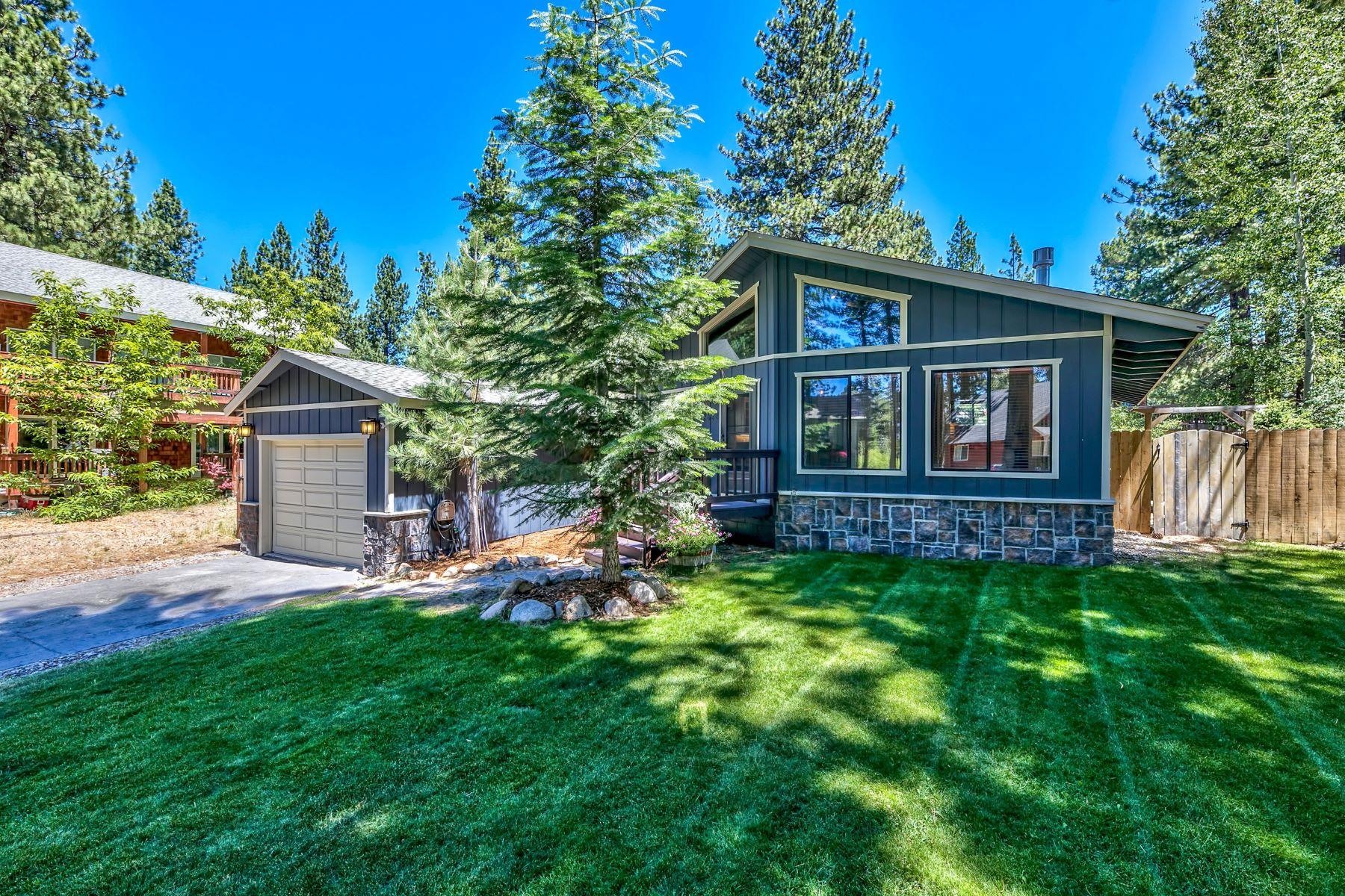Single Family Homes 为 销售 在 2838 Springwood Drive, South Lake Tahoe, CA 96150 2838 Springwood Drive 南太浩湖, 加利福尼亚州 96150 美国