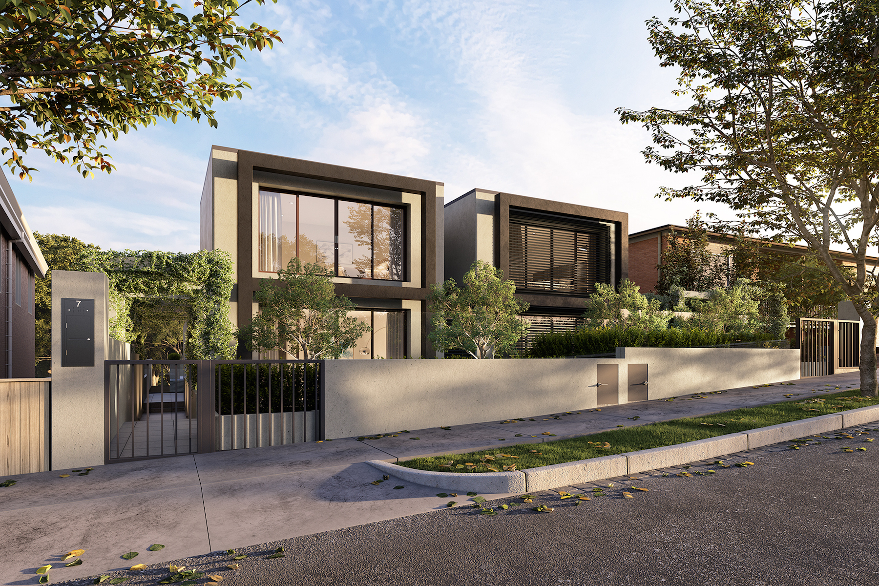 Villetta a schiera per Vendita alle ore 1&2/7 Monomeath Avenue, Toorak Melbourne, Victoria, 3142 Australia