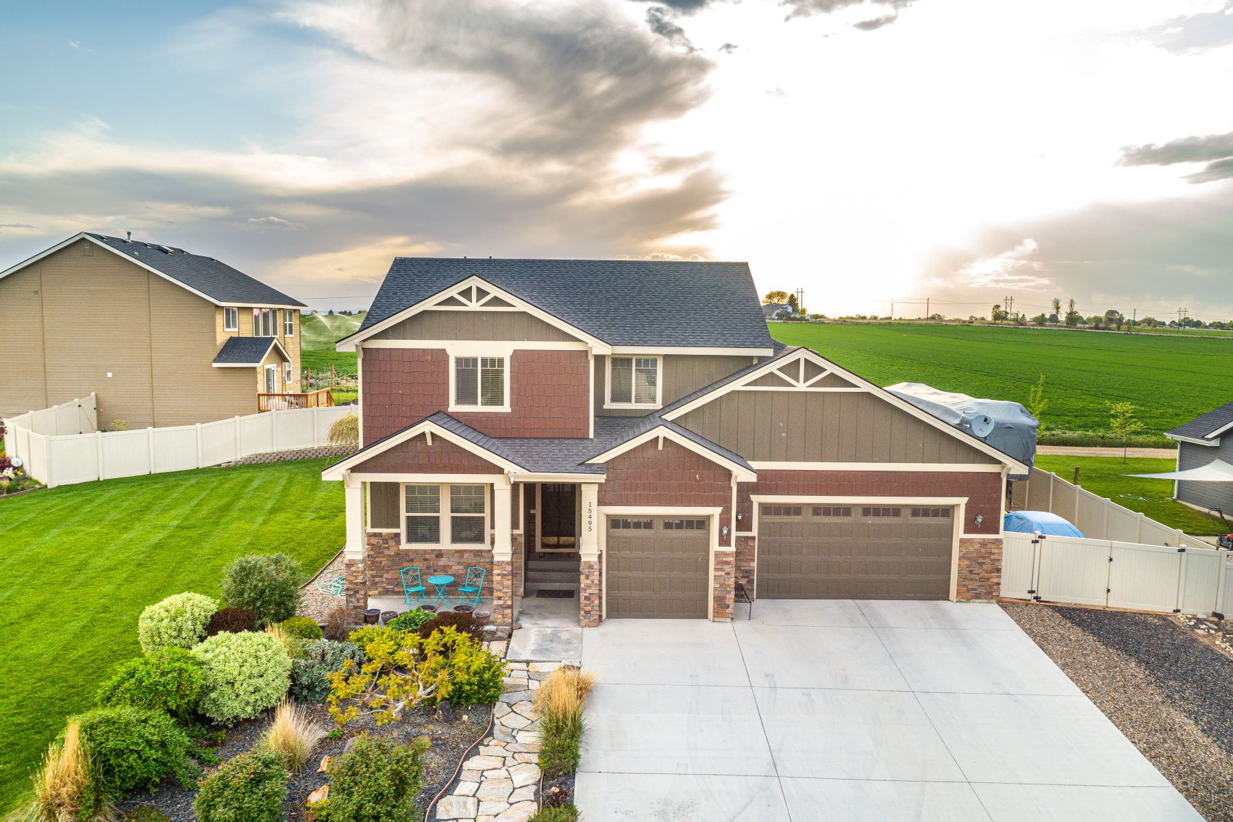 Single Family Homes for Sale at 15495 Blue Sky Ave Caldwell, Idaho 83607 United States