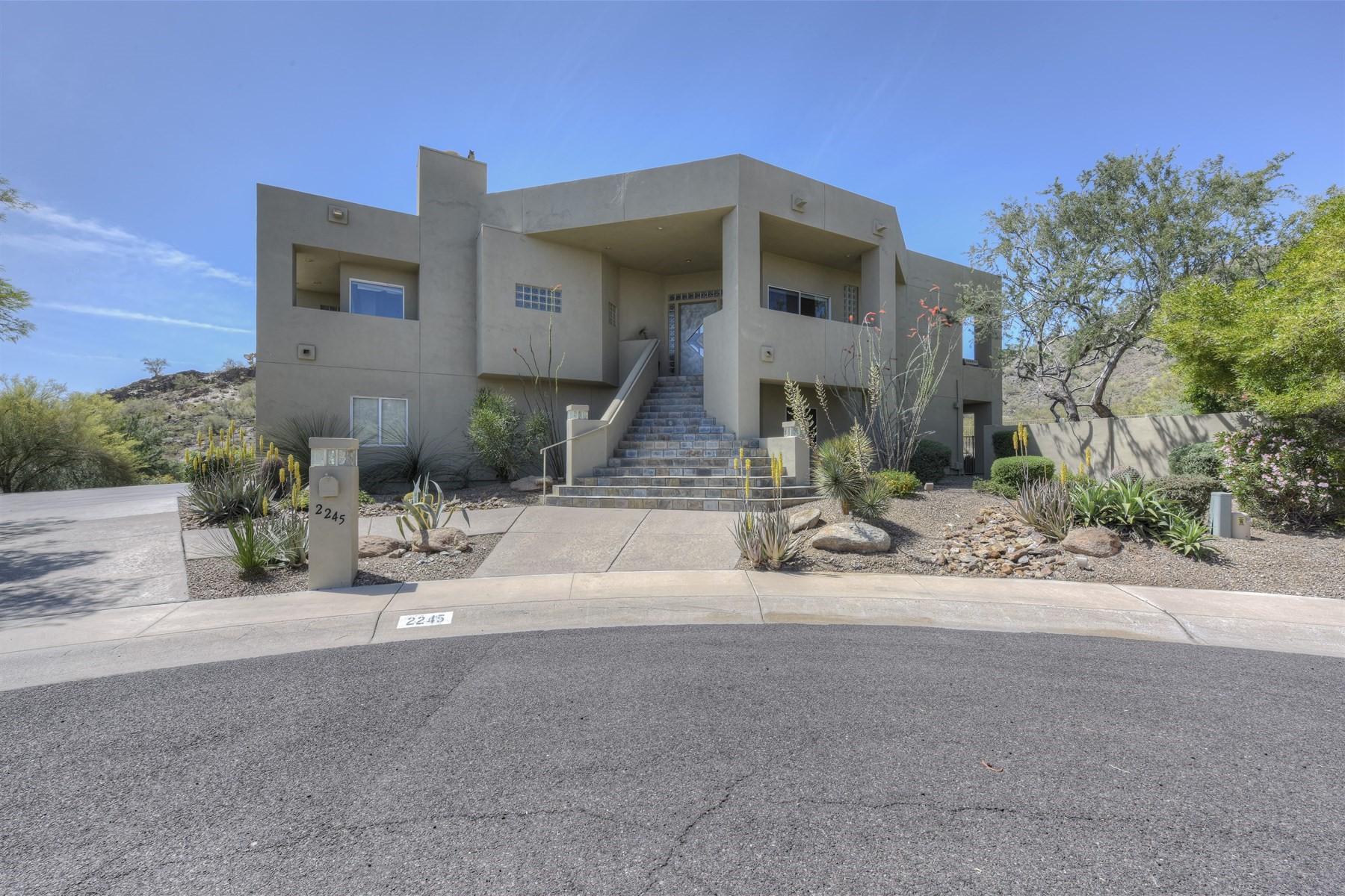 一戸建て のために 売買 アット Unique four bedroom home nestled against the Phoenix Mountain Preserve 2245 E Vogel Ave Phoenix, アリゾナ, 85028 アメリカ合衆国