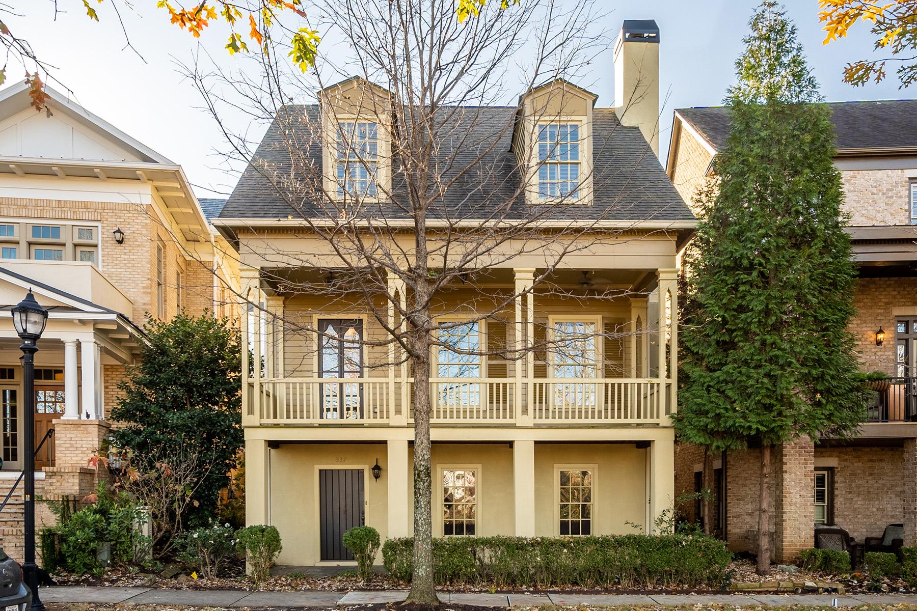 Single Family Home for Rent at Glenwood Park Craftsman Overlooking Park 937 Faith Avenue Atlanta, Georgia 30316 United States