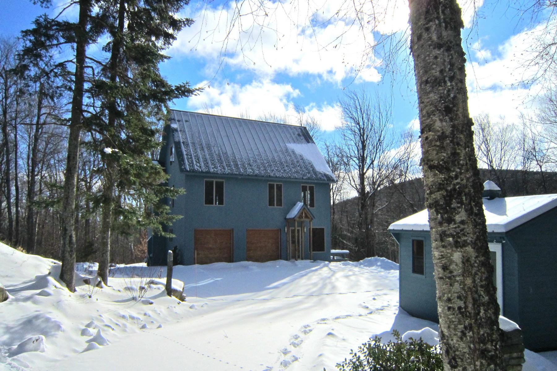 Частный односемейный дом для того Продажа на Exquisite Davis Frome on 29 Acres 749 Old Weston Mountain, Ludlow, Вермонт, 05149 Соединенные Штаты