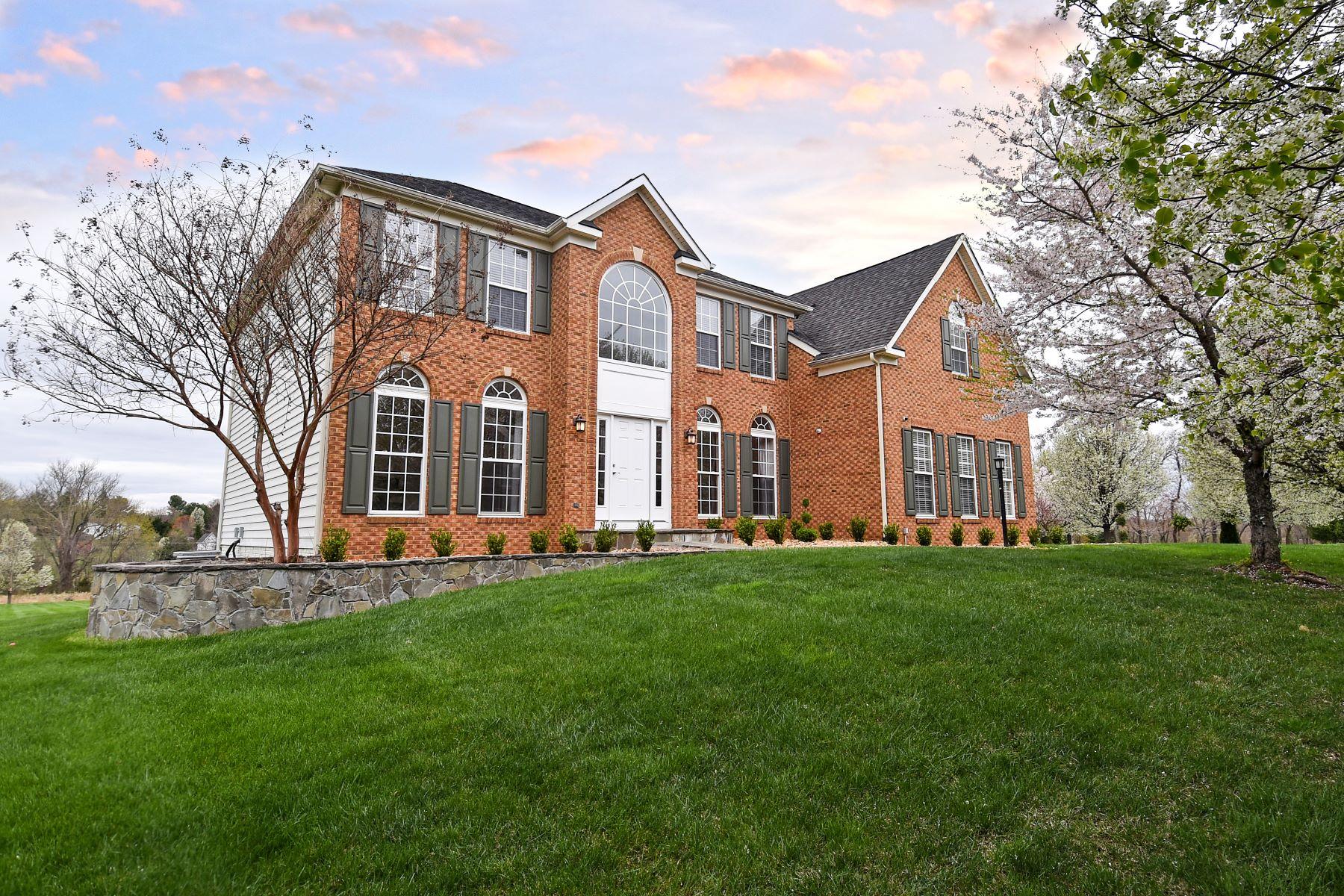 Частный односемейный дом для того Продажа на Twinoaks 17233 Twinaoks Place Hamilton, Виргиния 20154 Соединенные Штаты