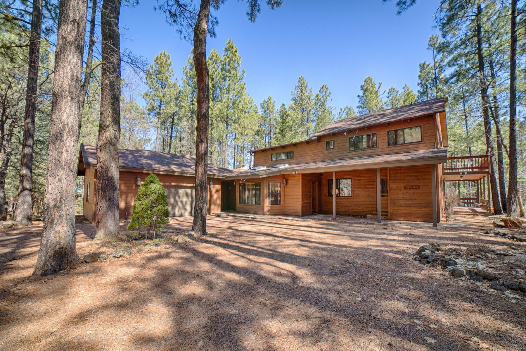 Single Family Homes for Active at White Mountain Summer Homes 2864 Aspen Loop LOOP Pinetop, Arizona 85935 United States
