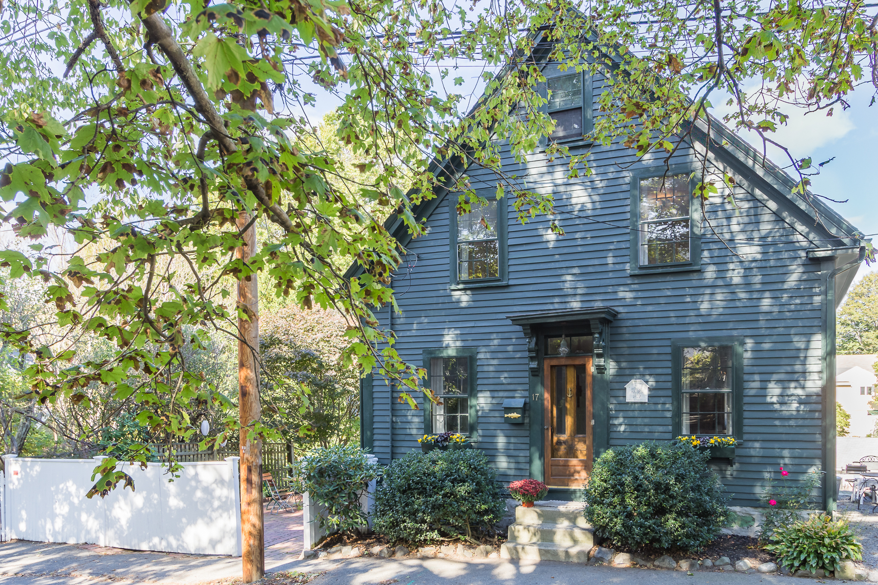 Single Family Home for Sale at Antique Colonial in the Heart of Marblehead 17 Elm Street Marblehead, Massachusetts 01945 United States