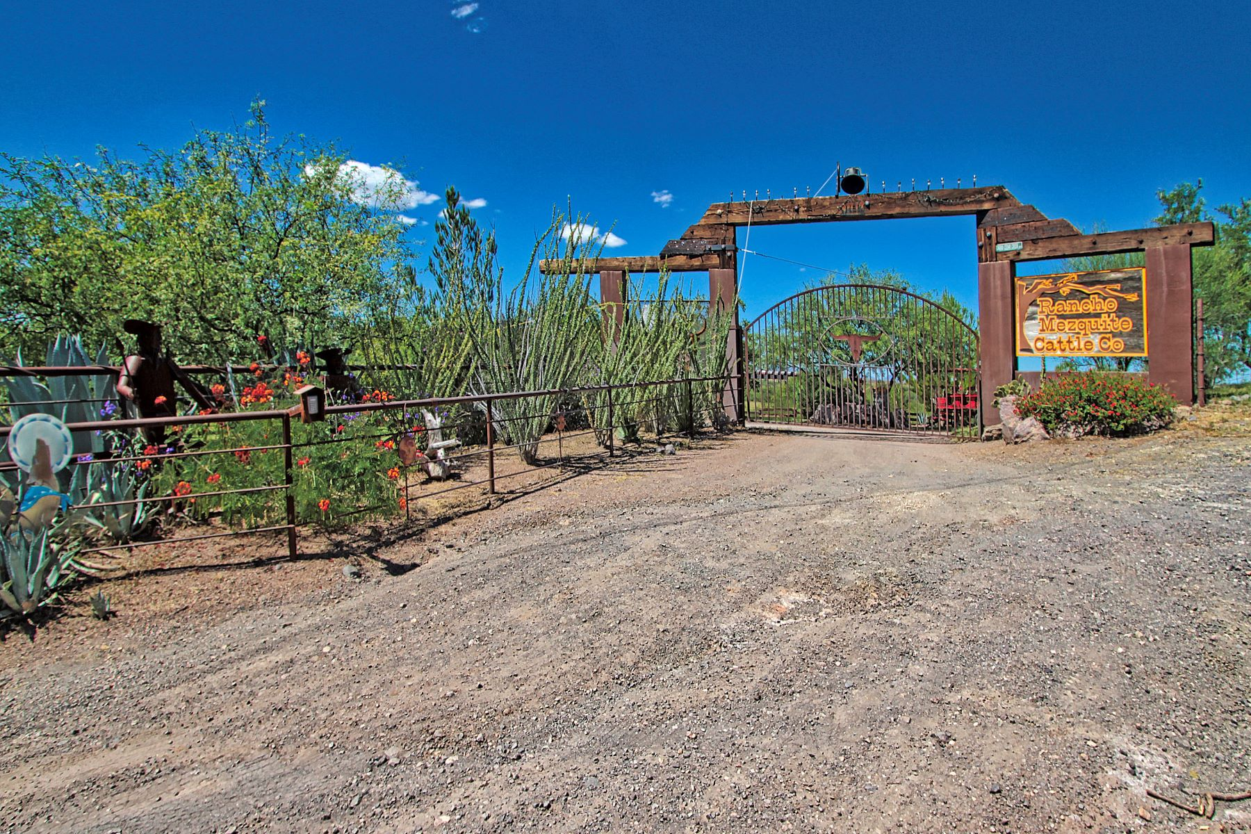 Single Family Homes for Active at Rare Blend of Country on 58 Acres 35760 S Cedar Creek Road Arivaca, Arizona 85601 United States