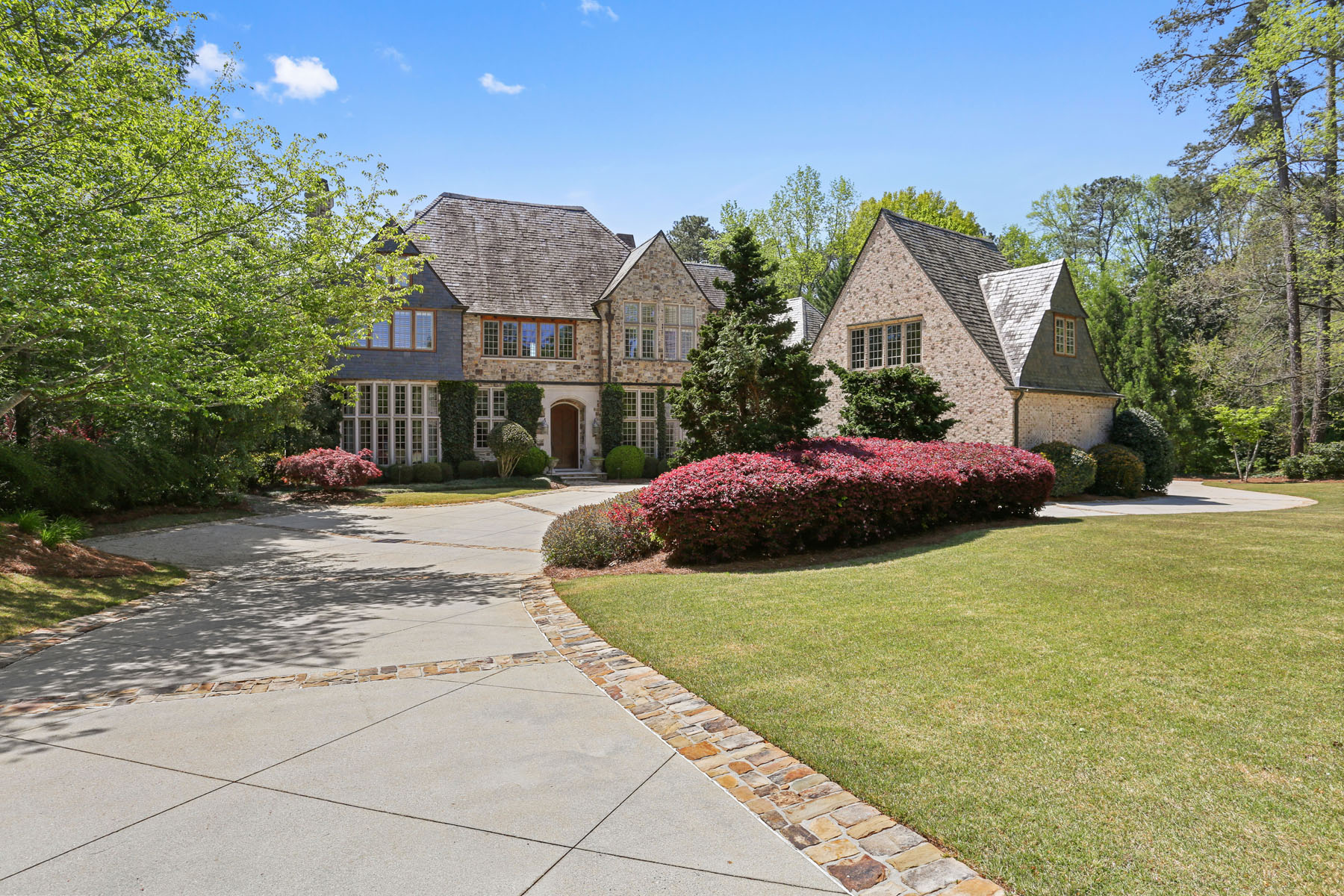 Single Family Home for Sale at Enchanting European-inspired Estate 4250 Paper Mill Rd Marietta, Georgia 30067 United States