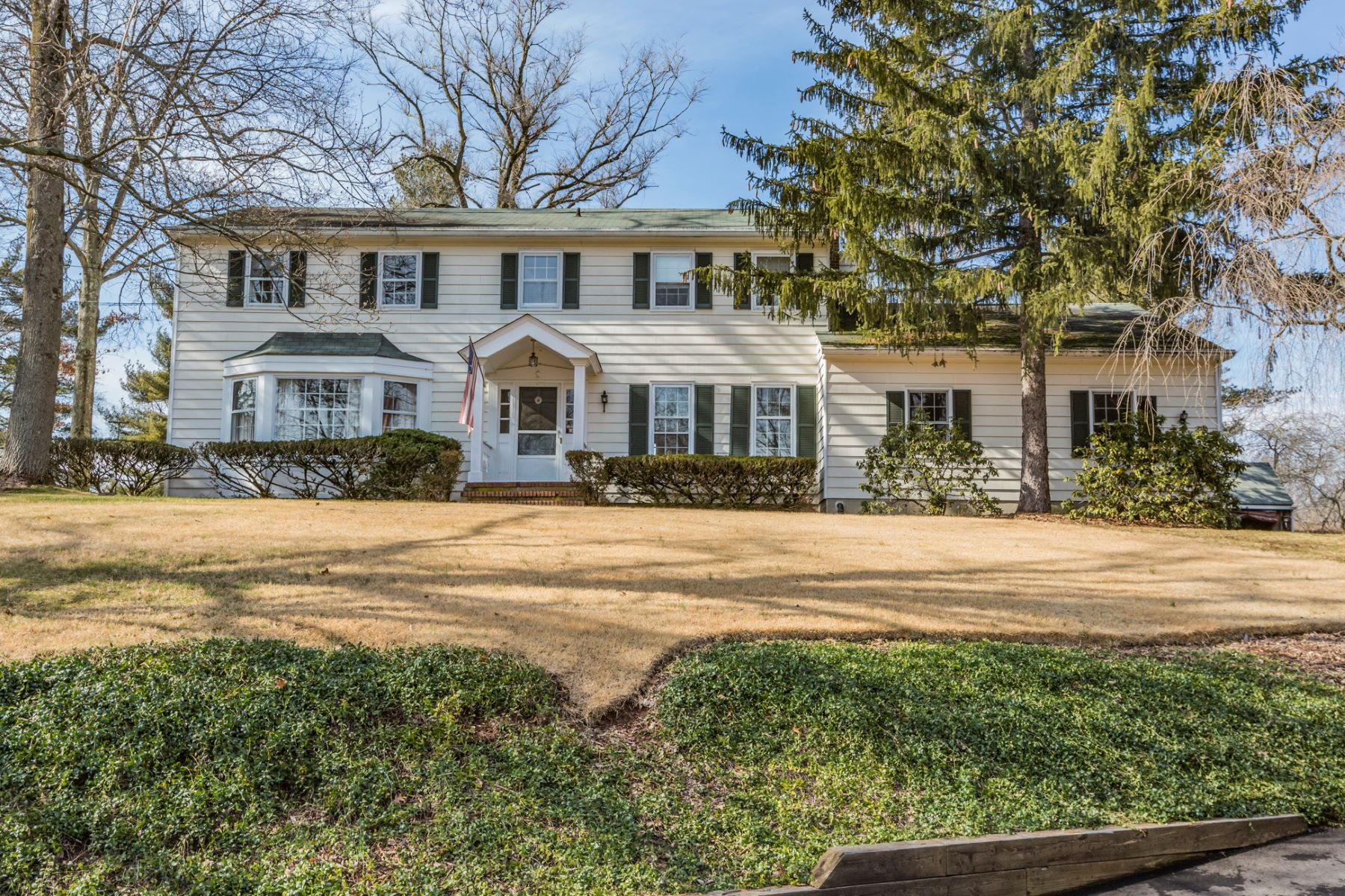 Single Family Home for Rent at Beautiful River Road Home - Montgomery Township 566 River Road Skillman, New Jersey 08502 United States