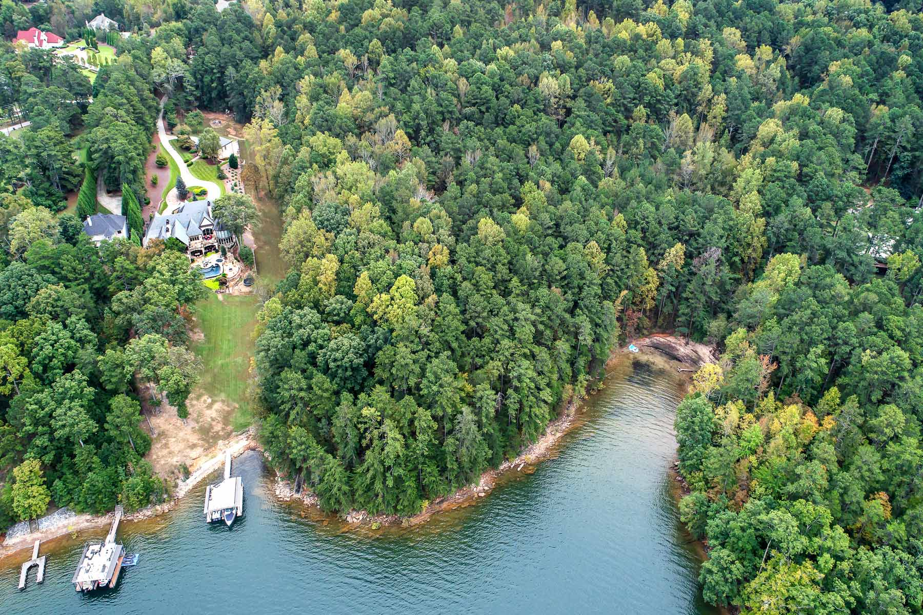 Land for Sale at Beautiful Acreage on Lake Lanier - Perfect Estate Property - Private Boat Dock 0 Garrett Road Buford, Georgia 30518 United States