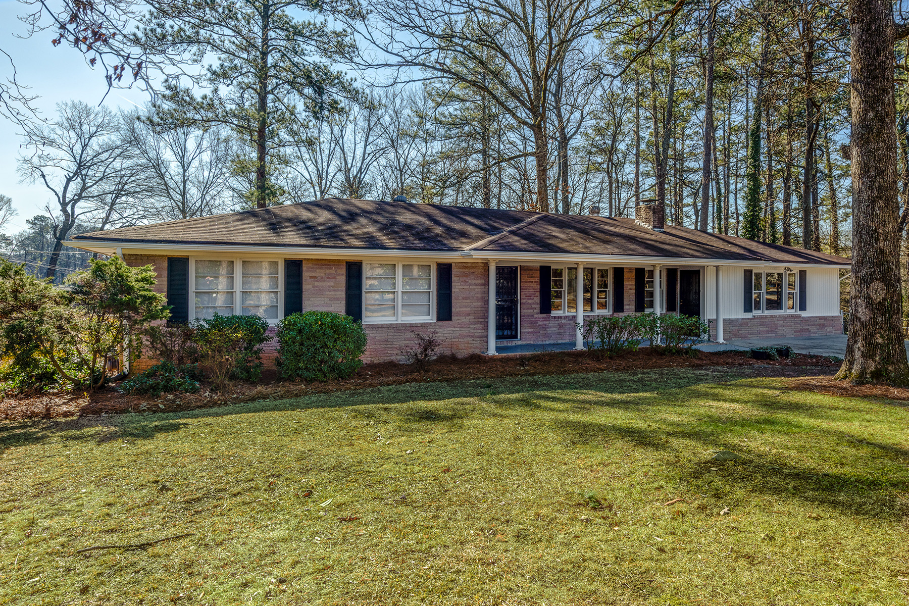 Single Family Home for Sale at Lovely Spacious Renovated Ranch In Charming West Cobb Neighborhood 639 Concord Road Smyrna, Georgia 30082 United States