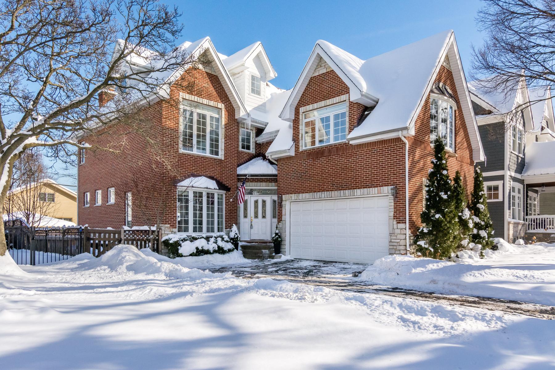 Casa Unifamiliar por un Venta en 207 S. Monroe Hinsdale, Illinois, 60521 Estados Unidos