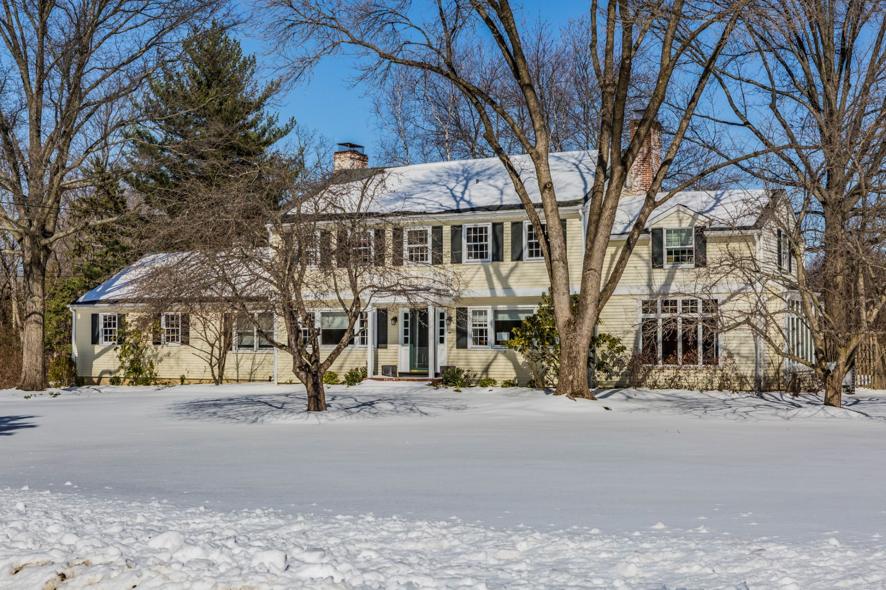 sales property at Modern Character and Classic Colonial Lines Warm - Hopewell Township