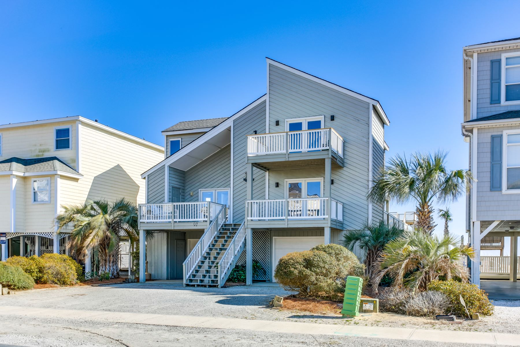 Single Family Home for Active at Oceanfront Home in Beautiful Ocean Isle Beach 97 W First Street Ocean Isle Beach, North Carolina 28469 United States