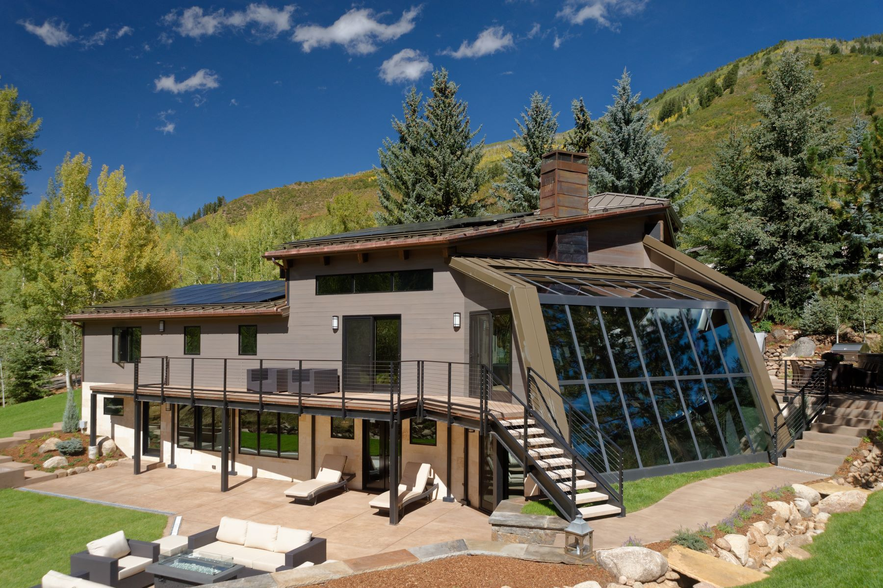 Single Family Home for Active at Exquisite Mountain Contemporary 39 Roaring Fork Drive Aspen, Colorado 81611 United States