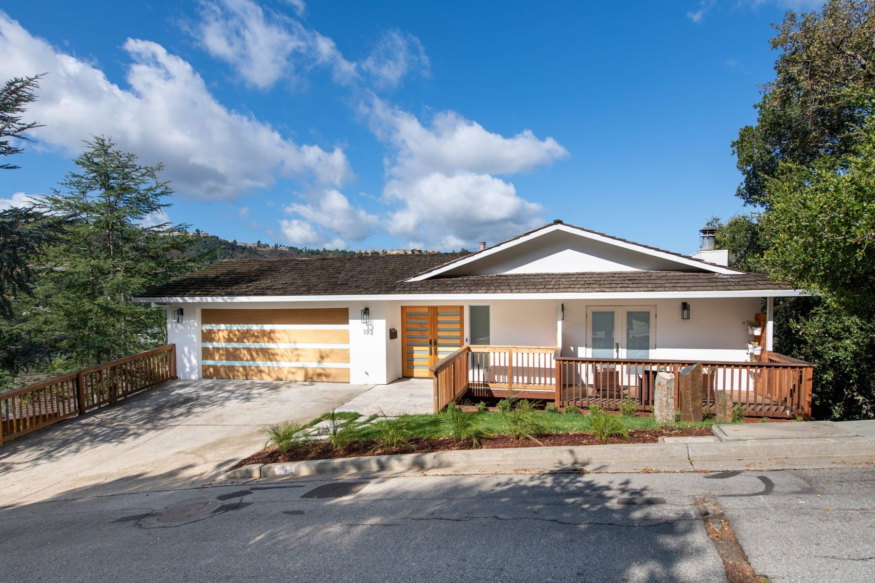 Single Family Homes for Sale at Remodeled Home with Breathtaking Views 192 Coronado Ave San Carlos, California 94070 United States