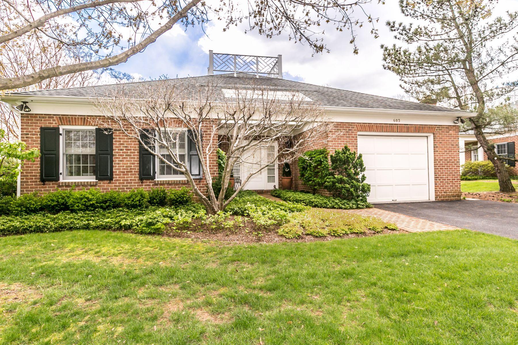 Condominiums por un Venta en 603 Brightwood Club Drive Lutherville Timonium, Maryland 21093 Estados Unidos