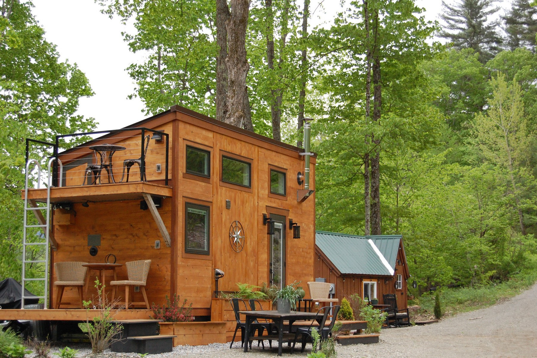 single family homes for Sale at Custom Tiny Home 164 Hollerith Rd Arlington, Vermont 05250 United States