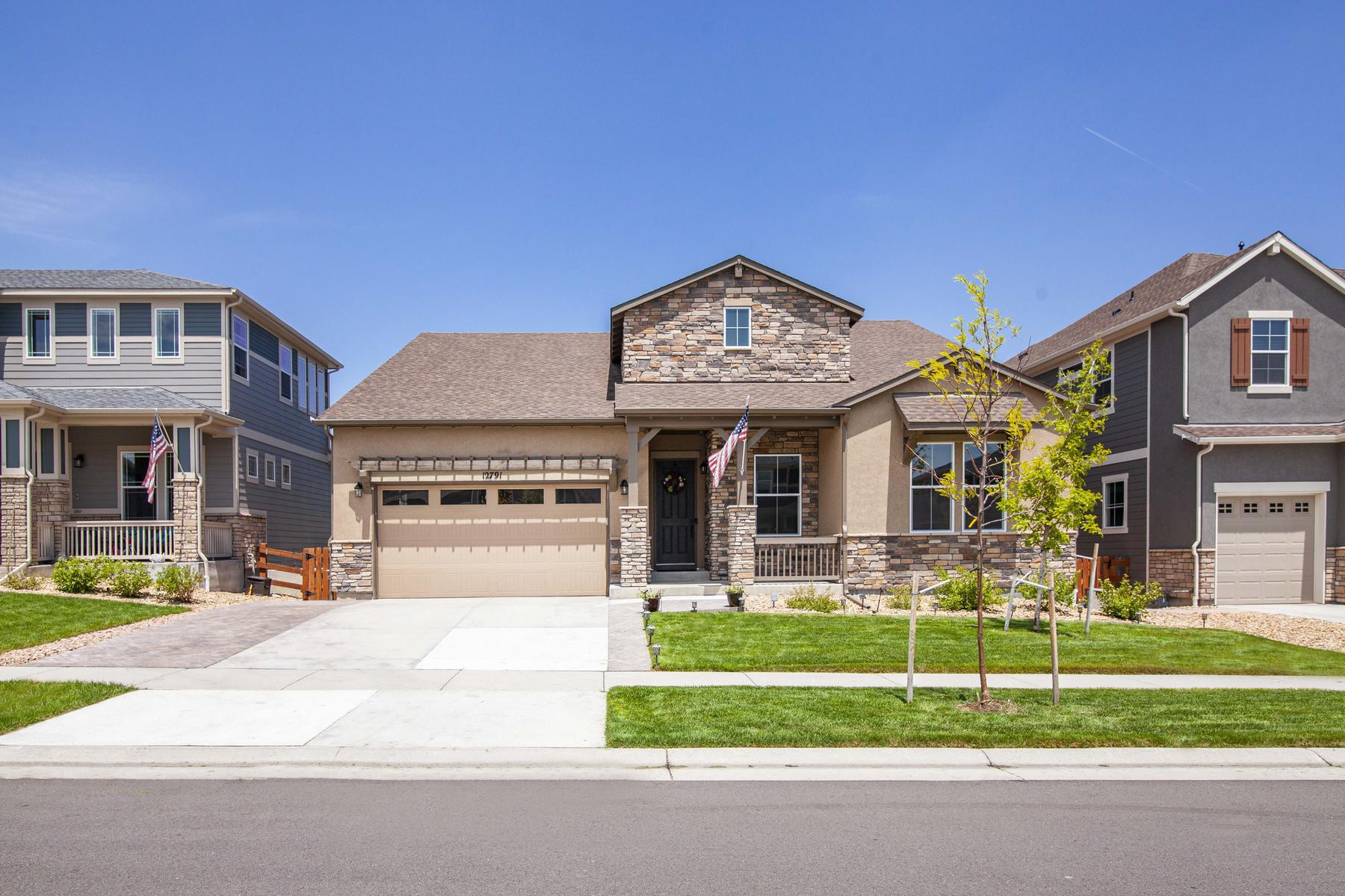 Single Family Homes for Sale at Sprawling Standley Stunner 12791 W 74th Drive Arvada, Colorado 80005 United States