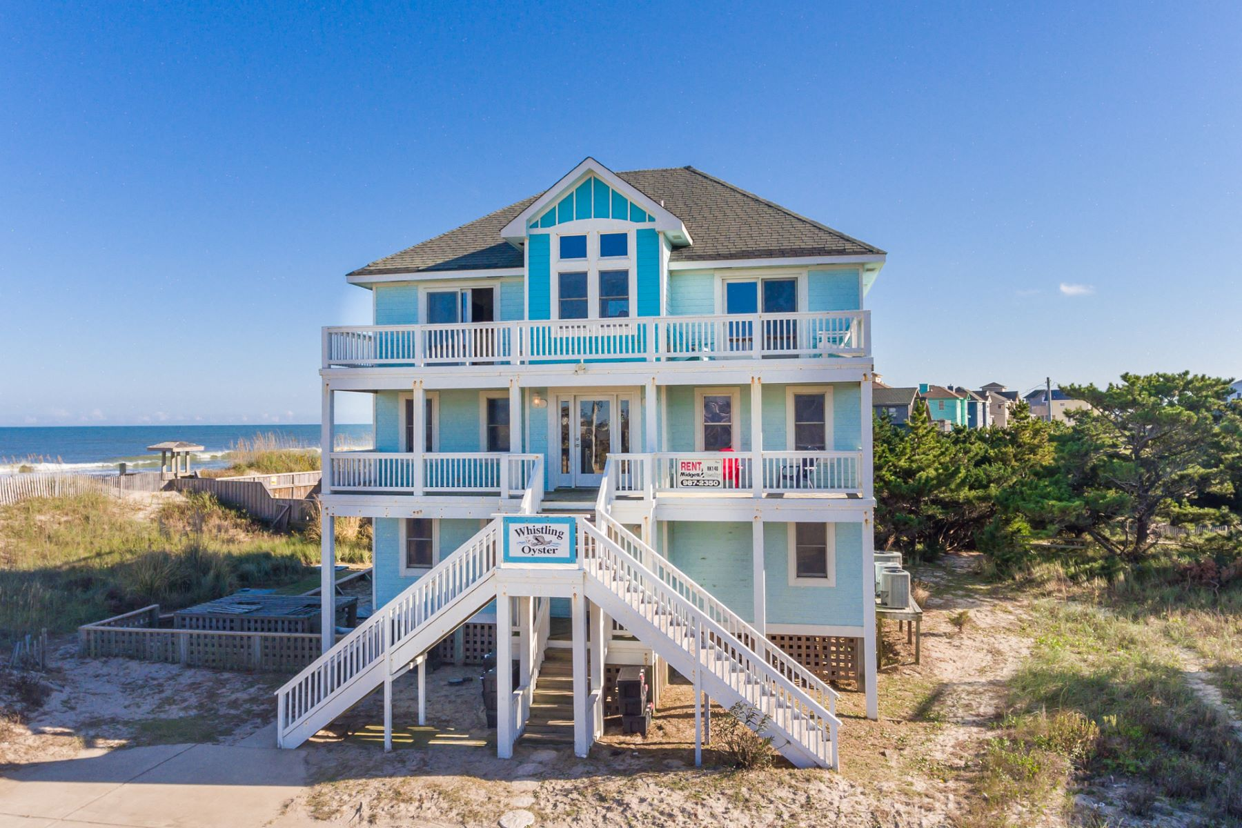 Single Family Home for Active at Whistling Oyster 24271 Ocean Drive Rodanthe, North Carolina 27968 United States