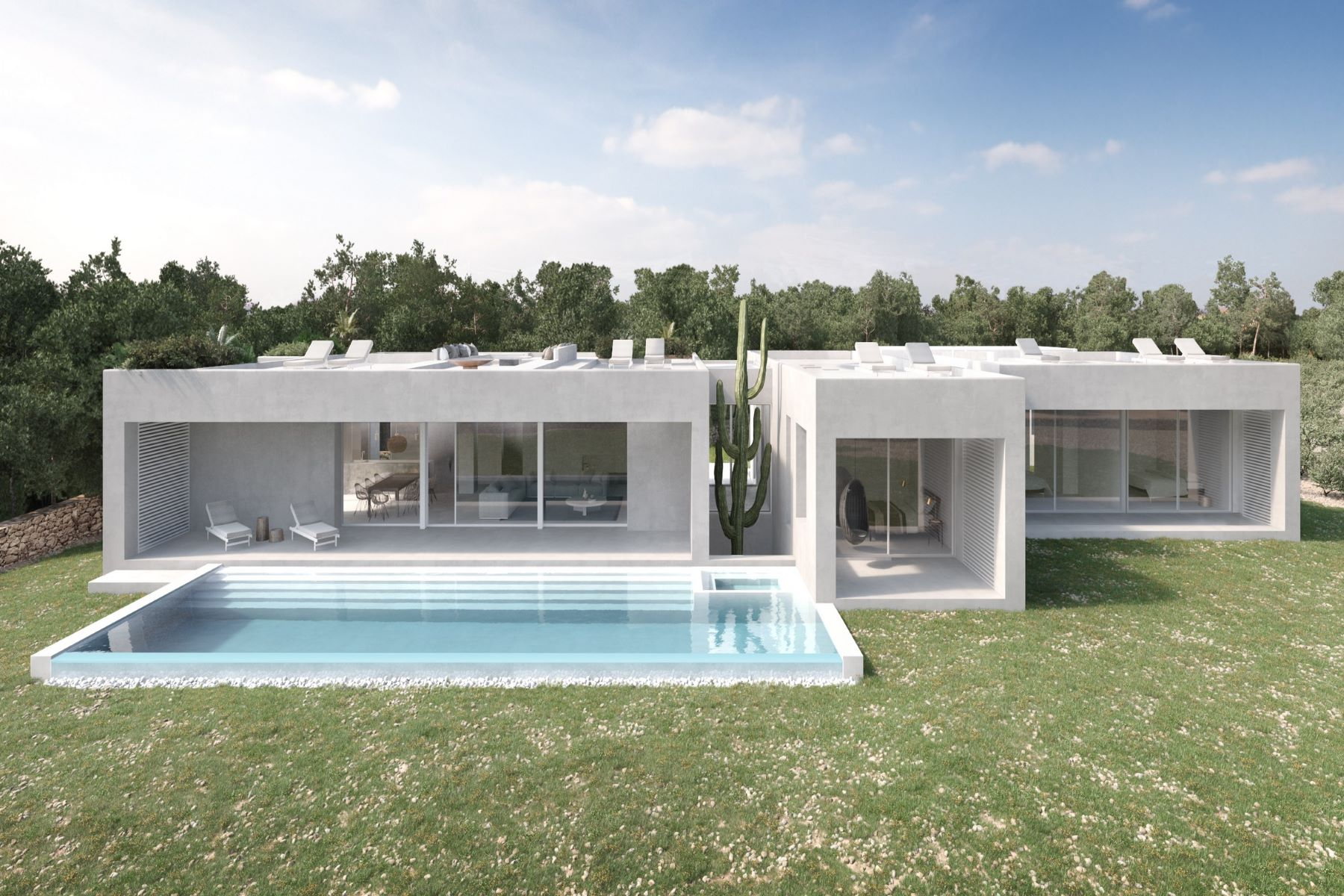 Single Family Homes for Sale at Modern Waterfront Home under construction - Direct Sea View Formentera Formentera, Balearic Islands 07860 Spain