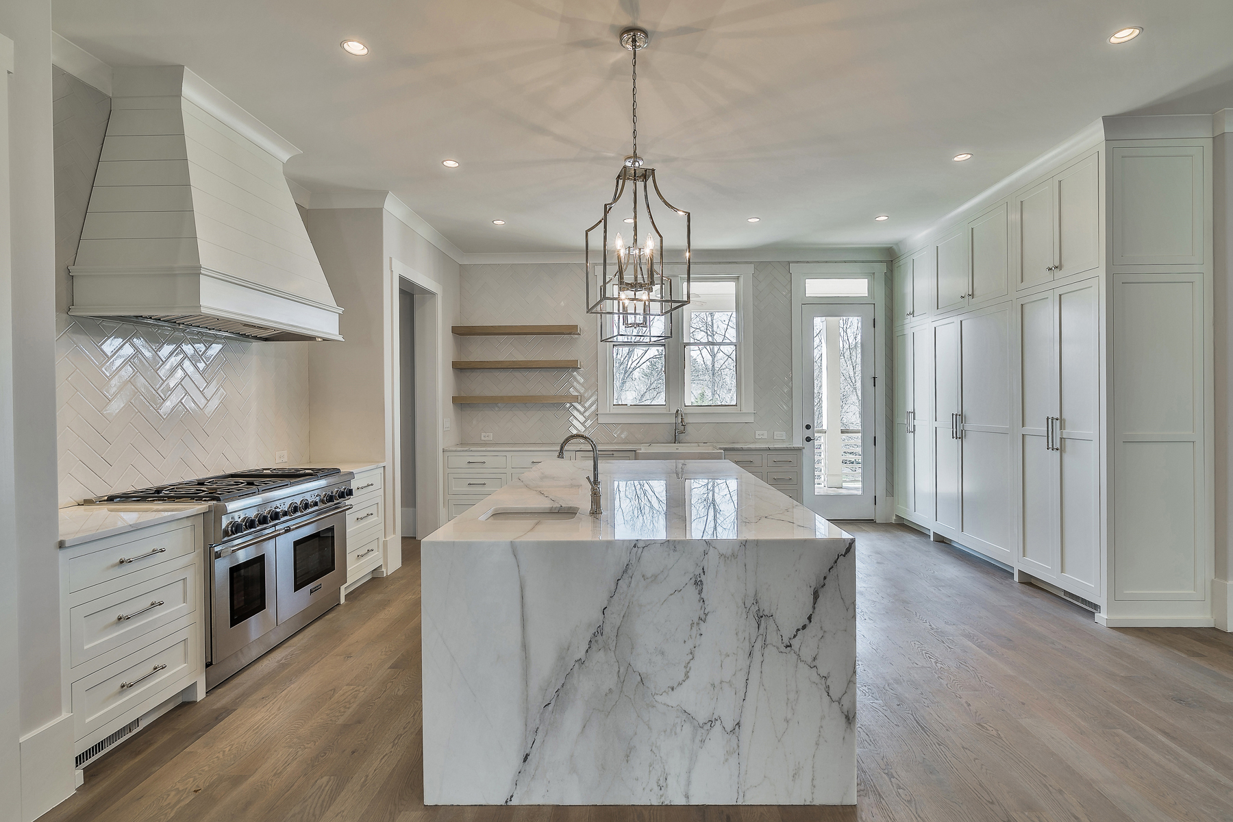 Single Family Homes for Sale at Stunning Modern Brick Estate To Be Built in Milton 565 Lost River Bend Milton, Georgia 30004 United States