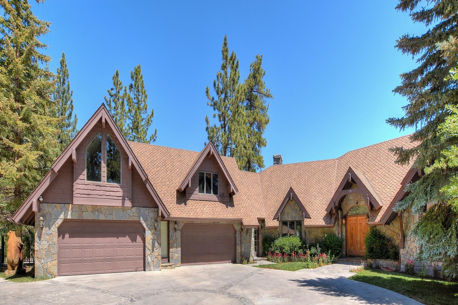 独户住宅 为 销售 在 791 Cove Drive, Big Bear Lake, California, 92315 大熊湖, 加利福尼亚州 92315 美国