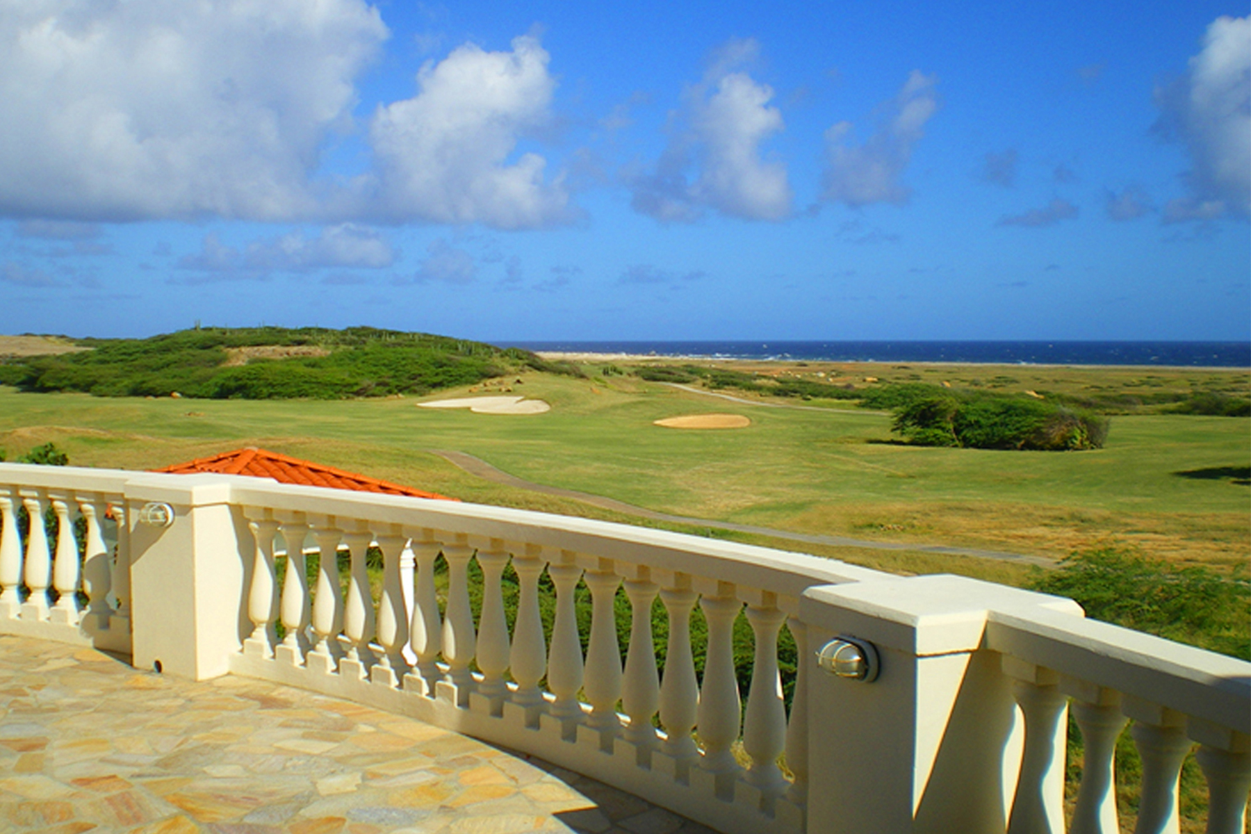 Additional photo for property listing at Stunning Estate with ocean and golf course view Malmok, Aruba Aruba