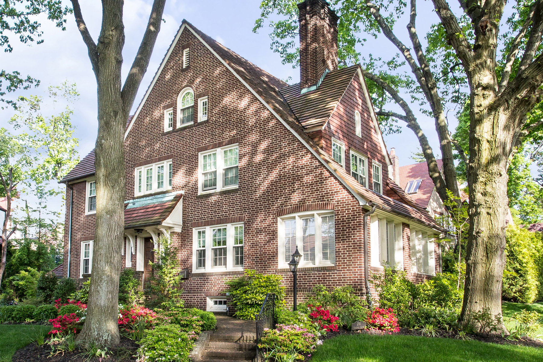 """Single Family Homes for Sale at """"COMMANDING VIEWS OVER EMBASSY ROW"""" 216 Greenway South,, Forest Hills Gardens, Forest Hills, New York 11375 United States"""