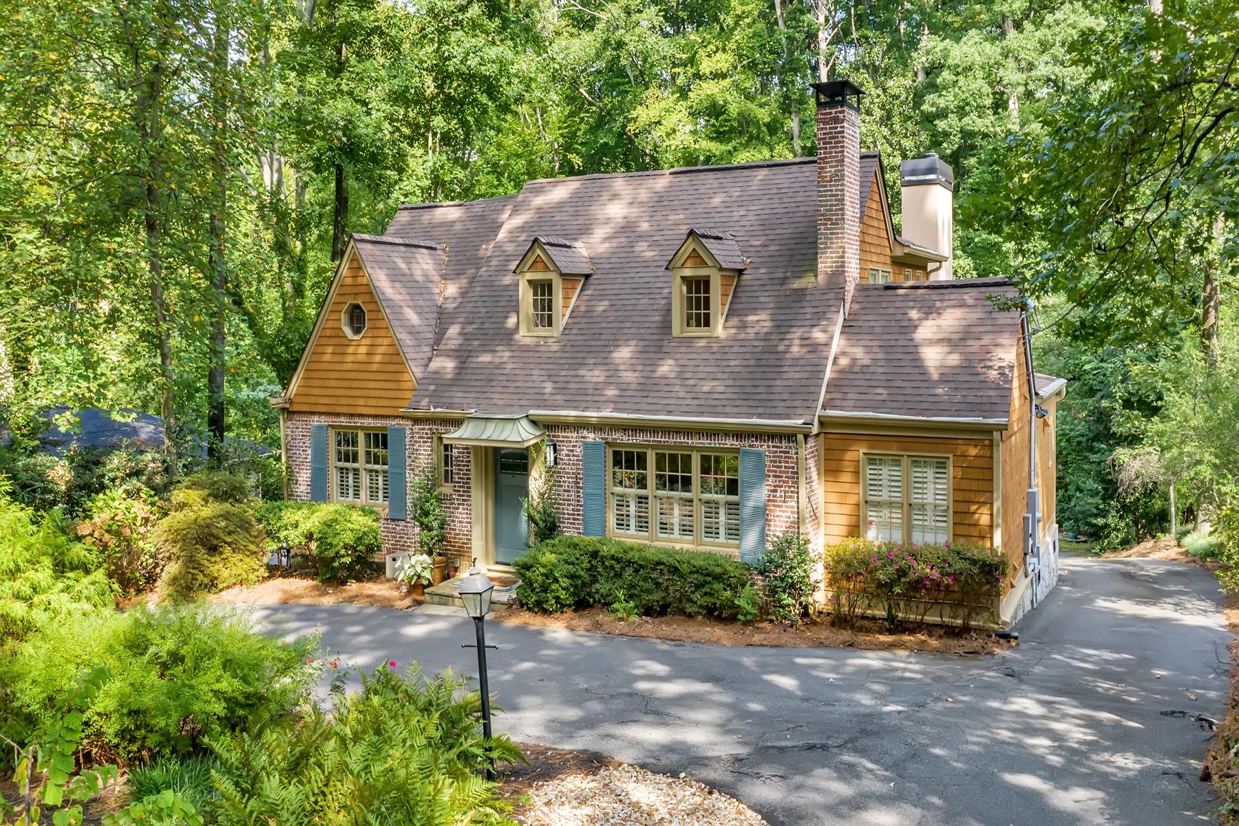 Single Family Homes для того Продажа на Stunning Home by Harrison Design with Farmhouse Style 3837 Peachtree Dunwoody Road NE, Atlanta, Джорджия 30342 Соединенные Штаты