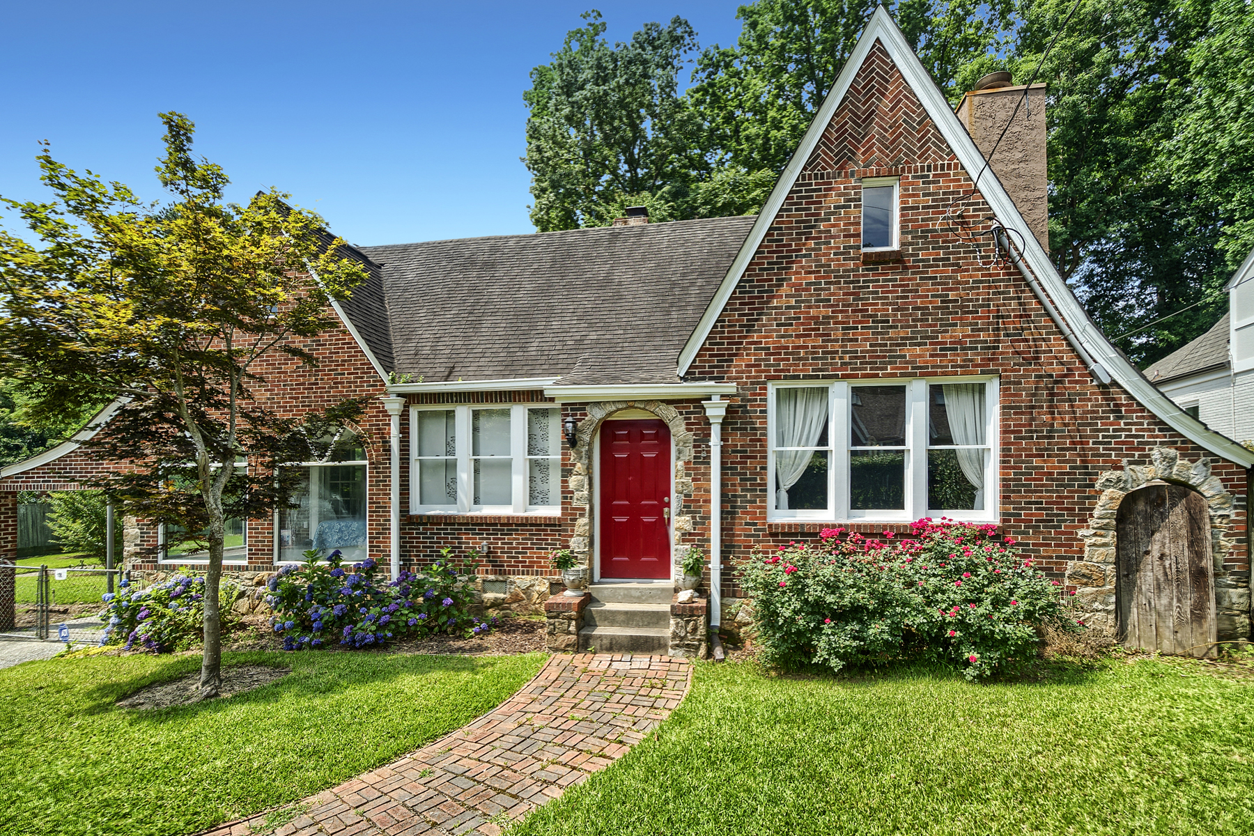 Single Family Home for Sale at Storybook Tudor On Half Acre On One Of Morningside's Most Captivating Streets 1662 N Pelham Road NE Atlanta, Georgia 30324 United States