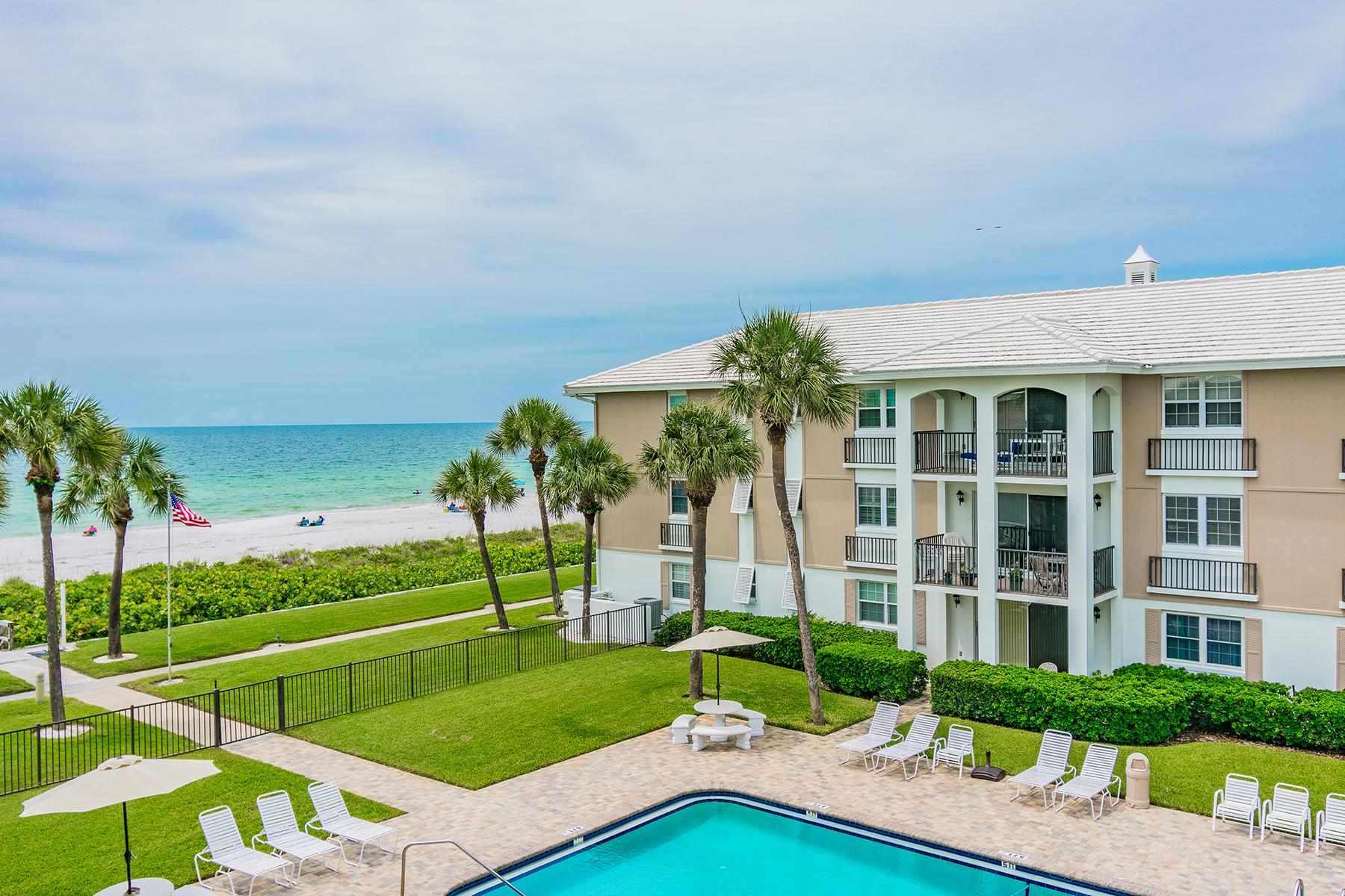 Condominiums por un Venta en BELLEAIR BEACH 2500 Gulf Blvd , 301A, Belleair Beach, Florida 33786 Estados Unidos