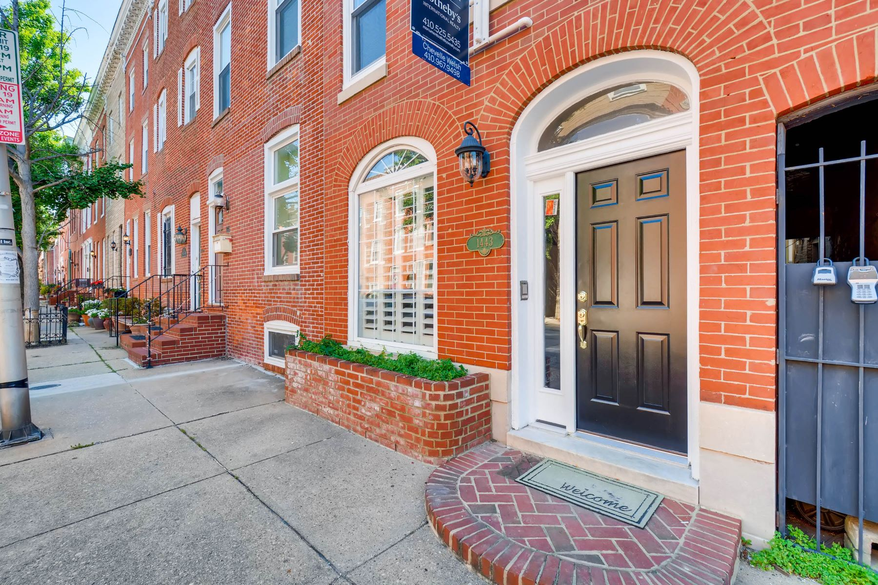 Townhouse for Sale at 1443 William Street 1443 William Street Baltimore, Maryland 21230 United States