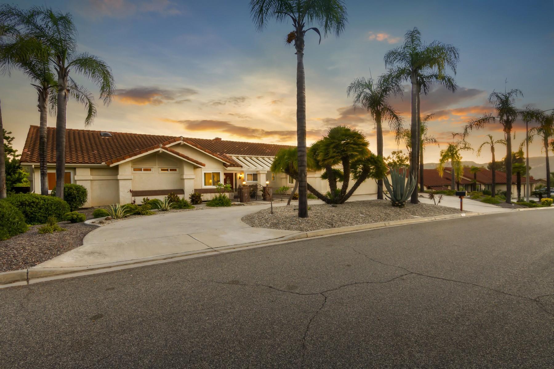 Single Family Homes for Sale at 1425 Cortina Circle Escondido, California 92029 United States