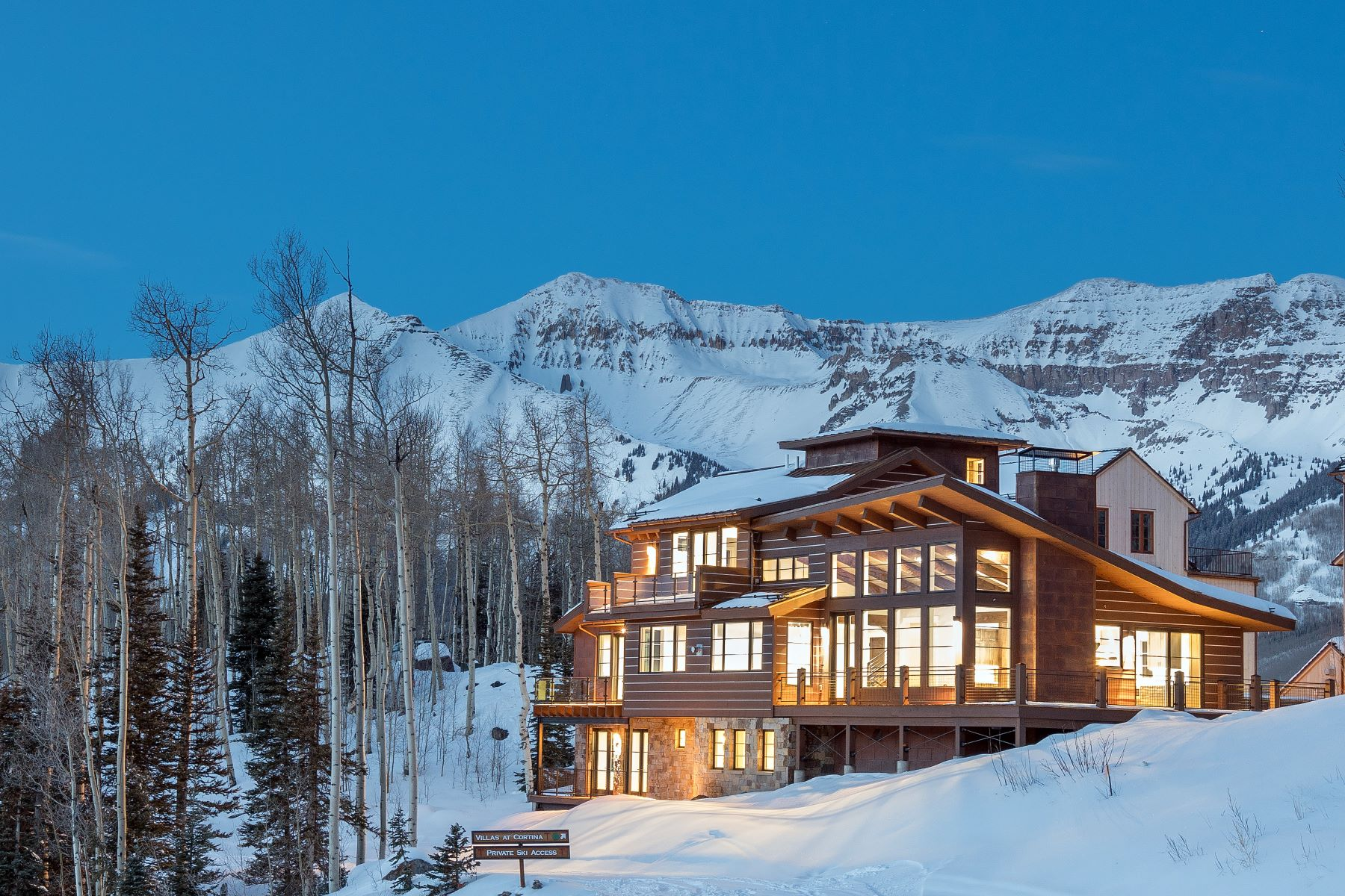 Single Family Home for Sale at 14 Cortina Drive 240 Cortina Drive Telluride, Colorado, 81435 United States