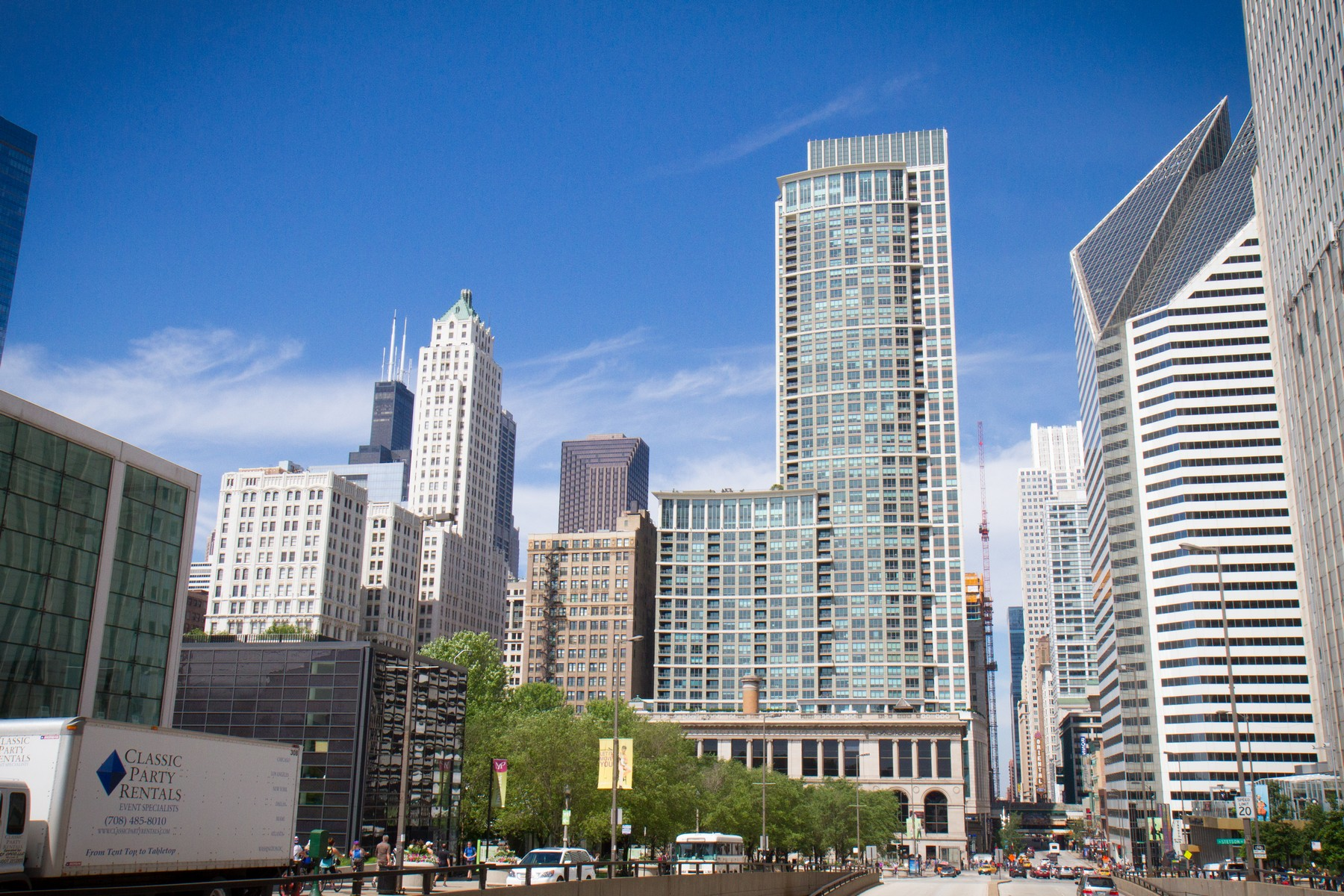 Condominium for Sale at Spacious Corner Unit at the Heritage at Millennium Park 130 N Garland Unit 3704 Loop, Chicago, Illinois, 60602 United States