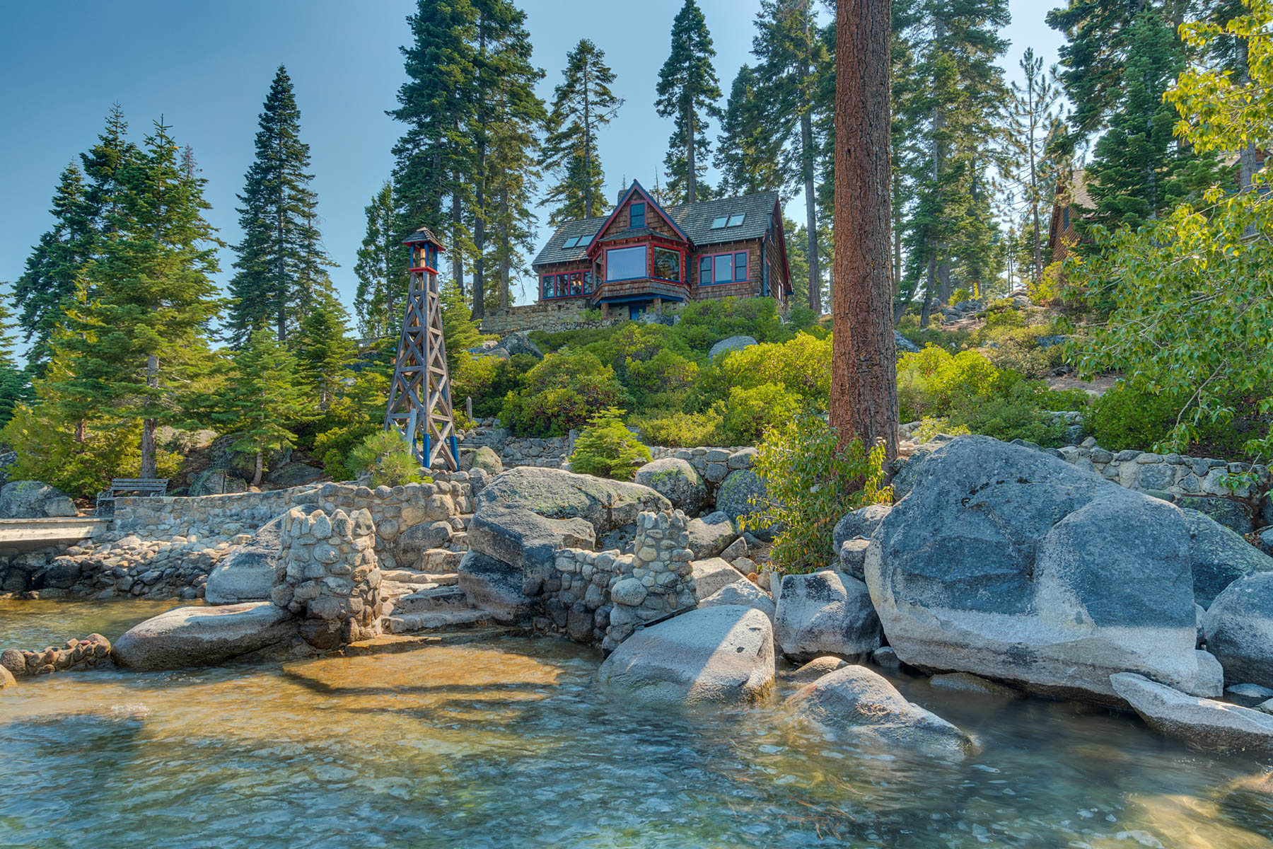 Additional photo for property listing at Boulder Point on Meeks Bay 8307 Meeks Bay Avenue Tahoma, California 96142 United States