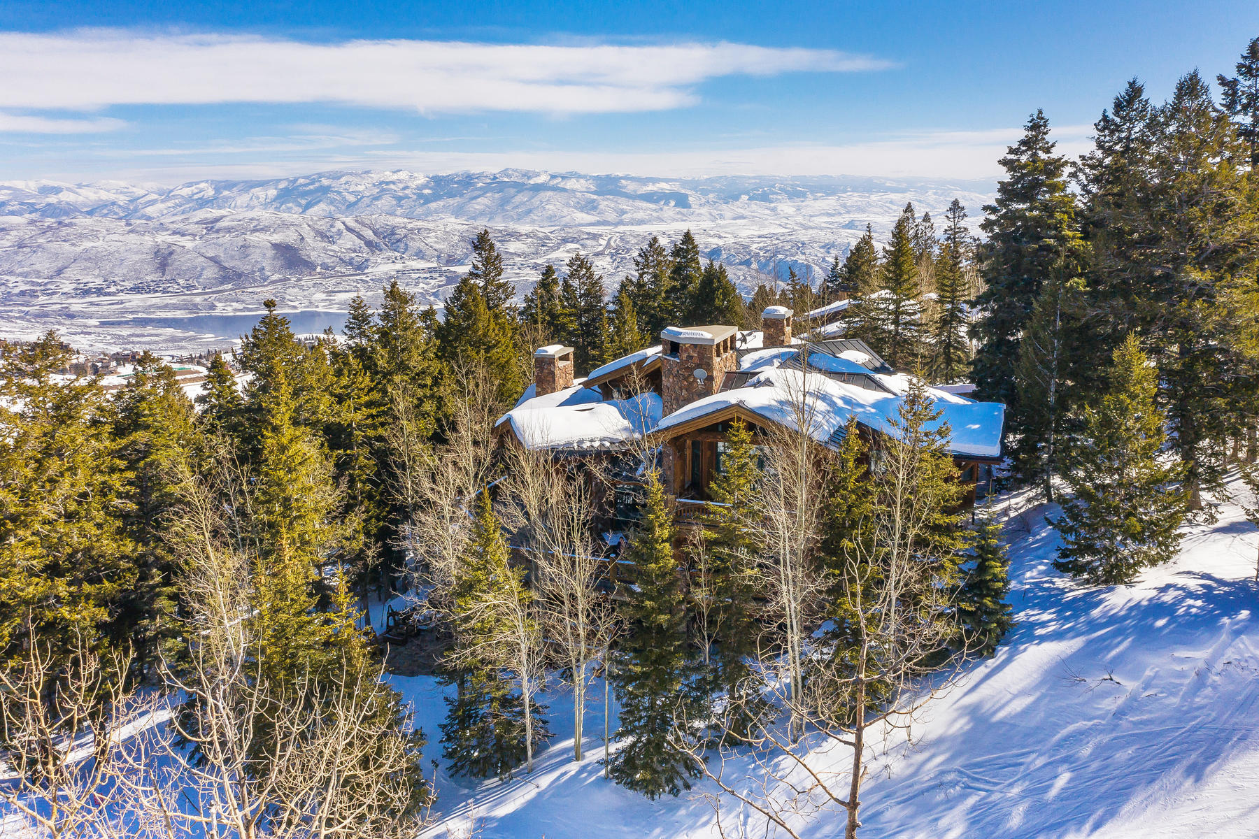 Single Family Homes for Active at Luxury Deer Valley Private Retreat with Ultimate Ski Access and Views 7975 Bald Eagle Dr Park City, Utah 84060 United States